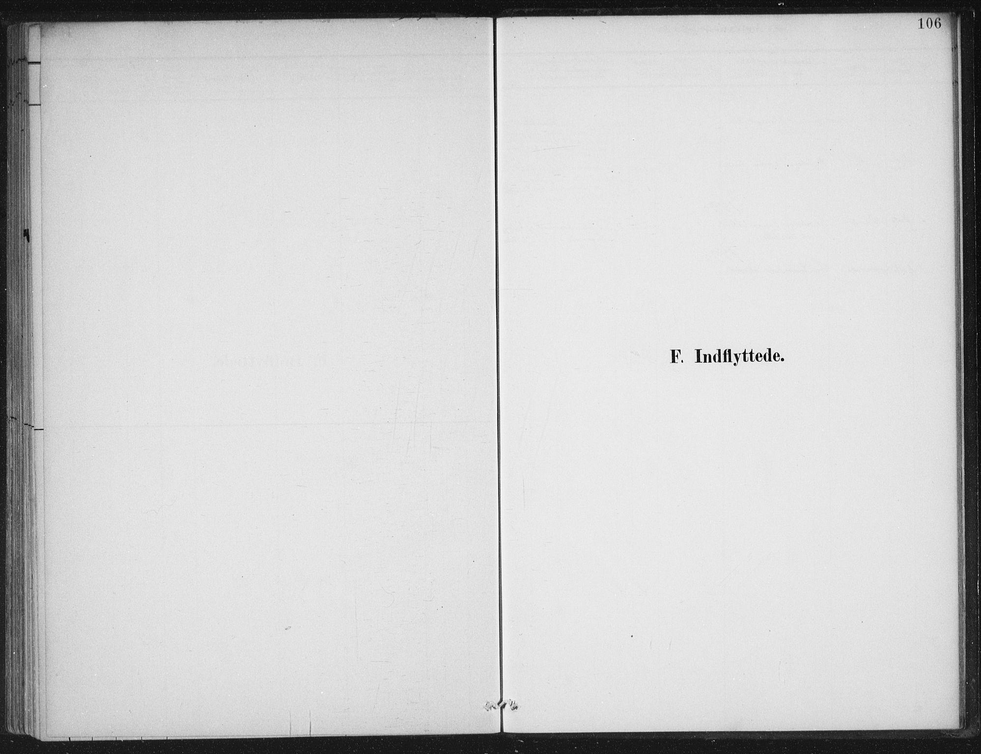 SAB, Gloppen sokneprestembete, H/Haa/Haad/L0001: Ministerialbok nr. D  1, 1885-1910, s. 106