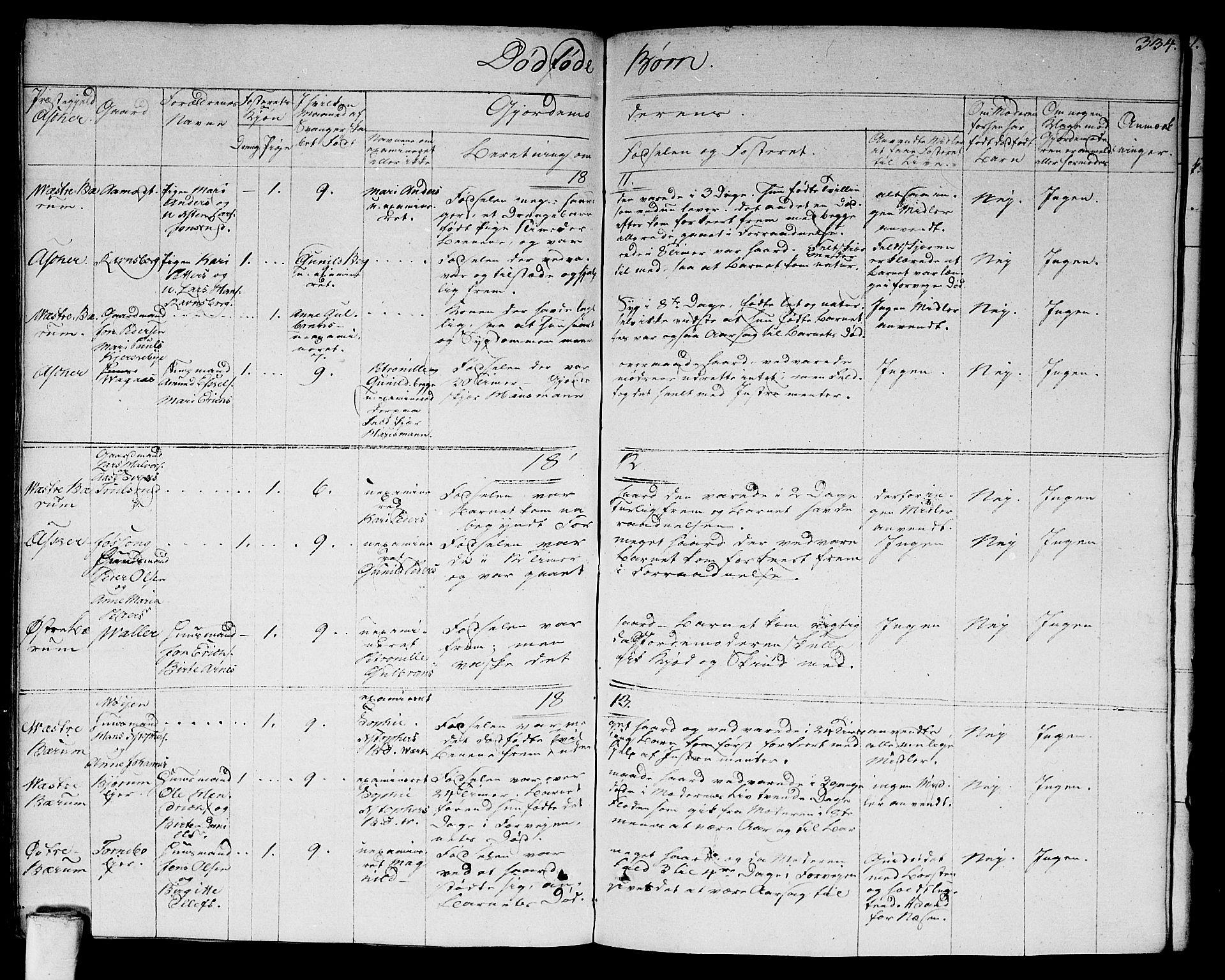 SAO, Asker prestekontor Kirkebøker, F/Fa/L0005: Ministerialbok nr. I 5, 1807-1813, s. 334
