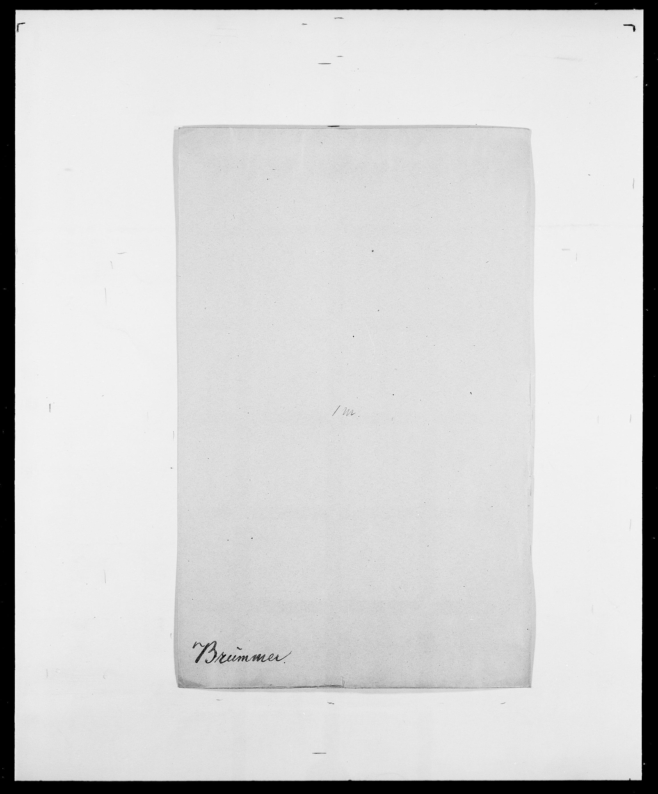 SAO, Delgobe, Charles Antoine - samling, D/Da/L0006: Brambani - Brønø, s. 642