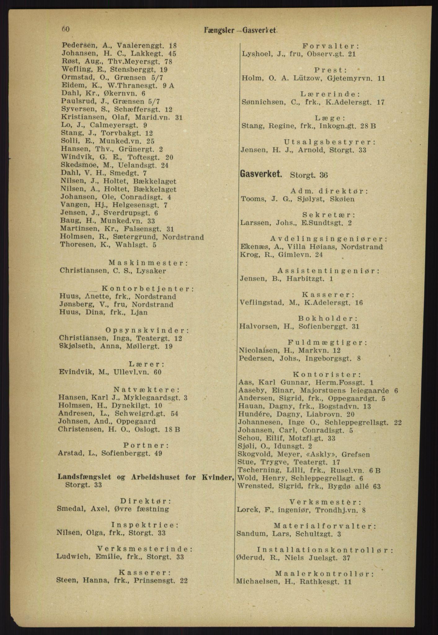 PUBL, Kristiania/Oslo adressebok, 1918, s. 67
