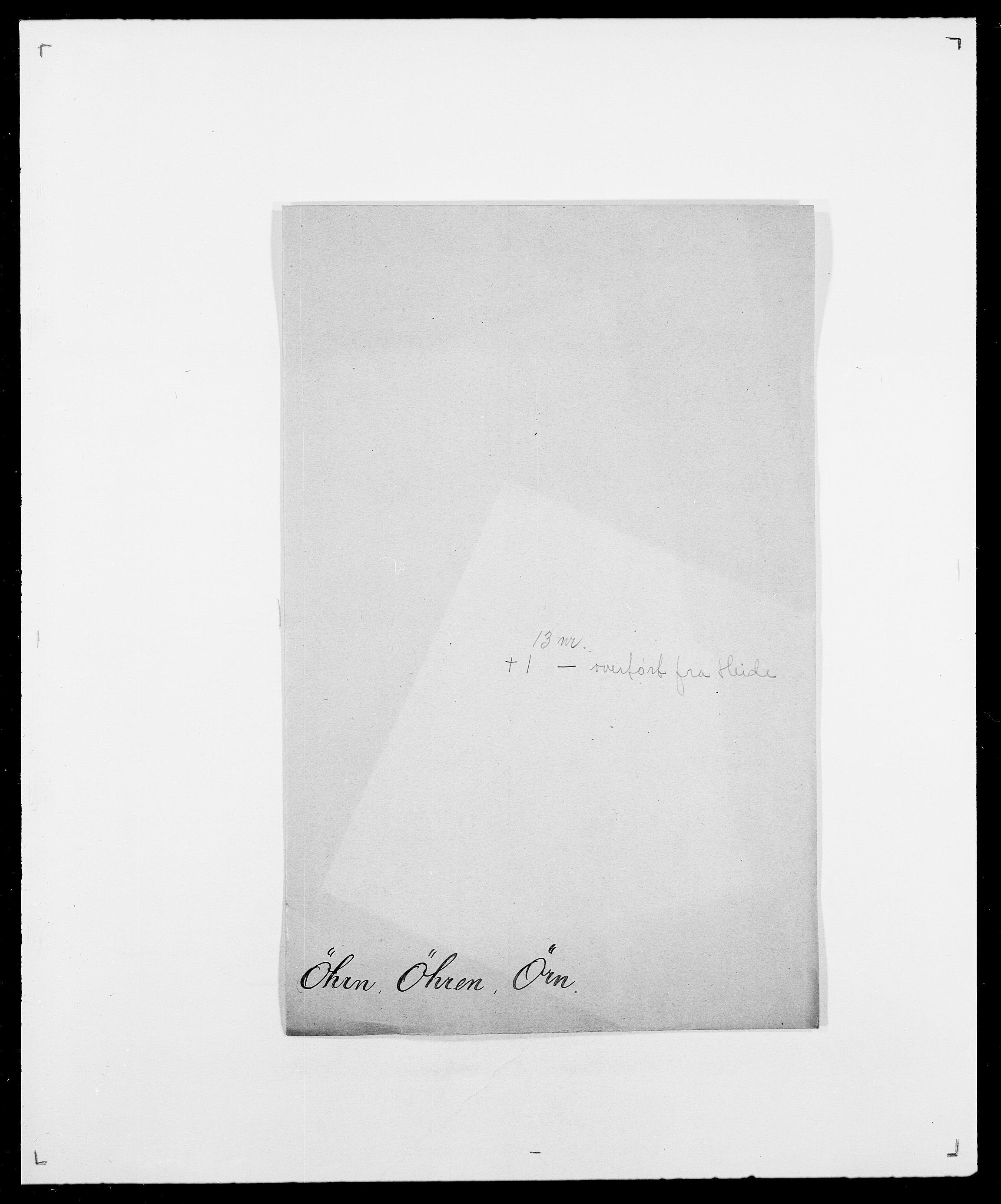 SAO, Delgobe, Charles Antoine - samling, D/Da/L0043: Wulfsberg - v. Zanten, s. 263