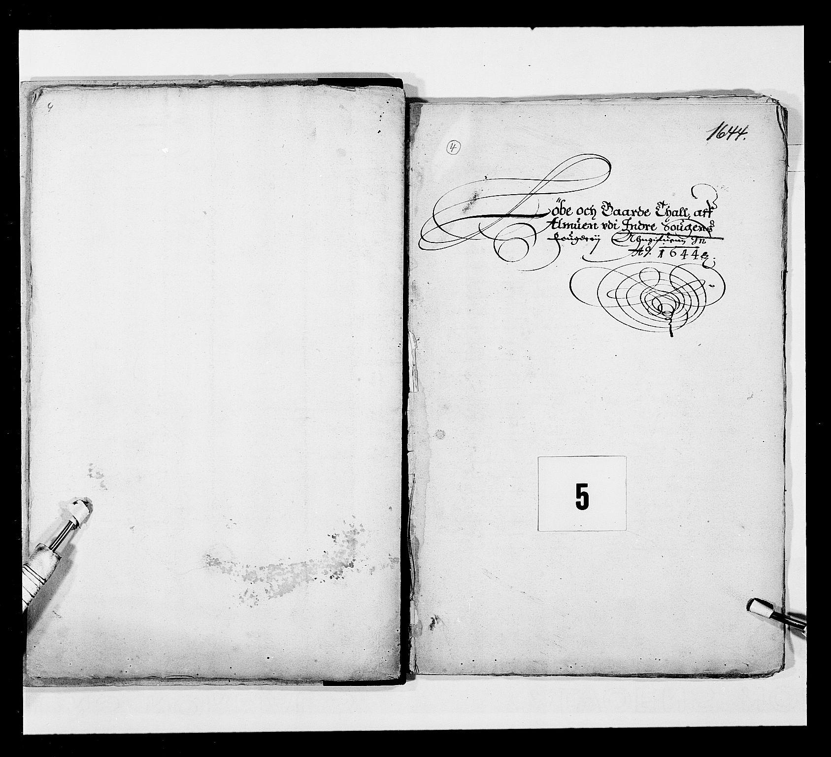 RA, Stattholderembetet 1572-1771, Ek/L0024: Jordebøker 1633-1658:, 1644, s. 32