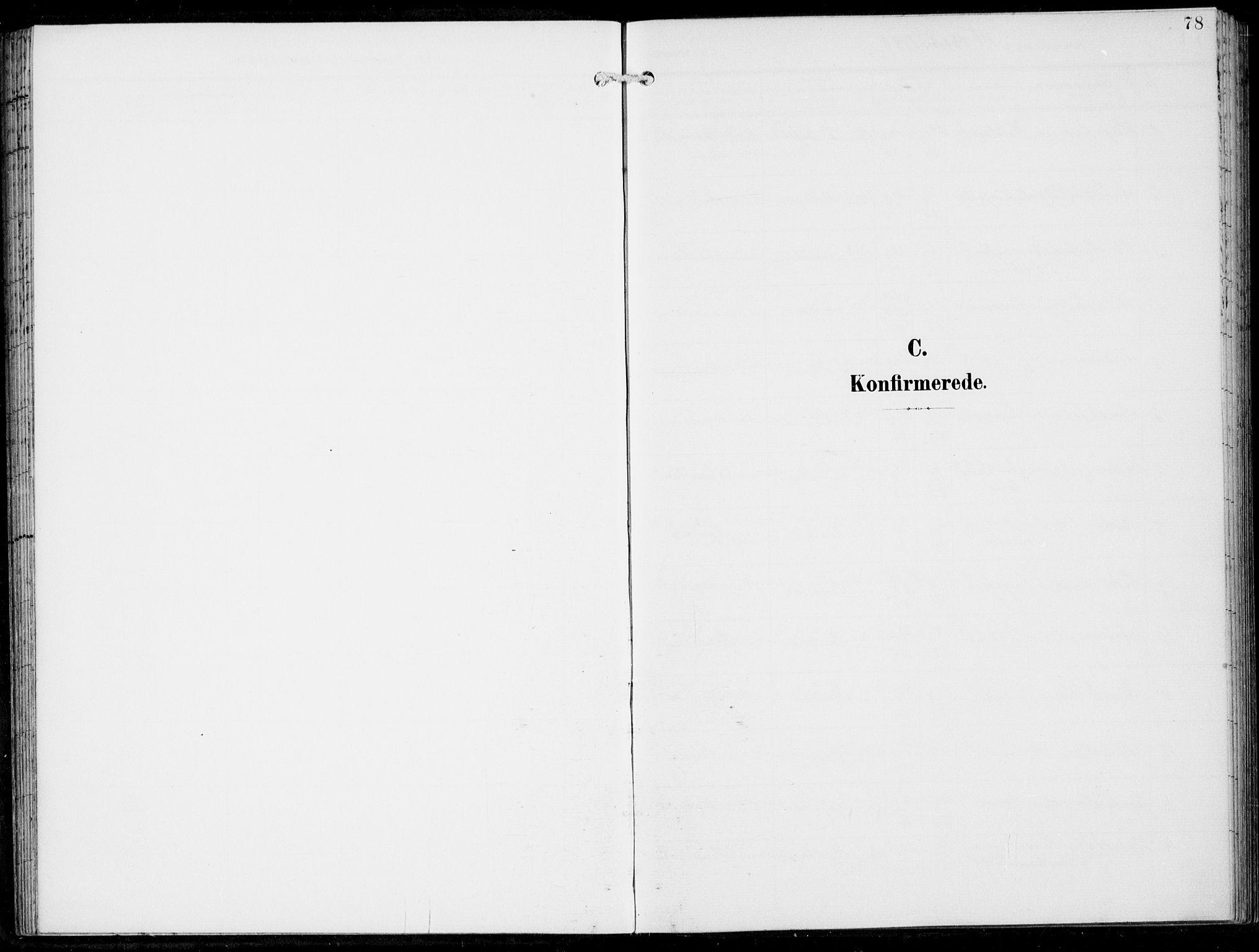 SAB, Haus sokneprestembete, H/Haa: Ministerialbok nr. B  2, 1899-1912, s. 78