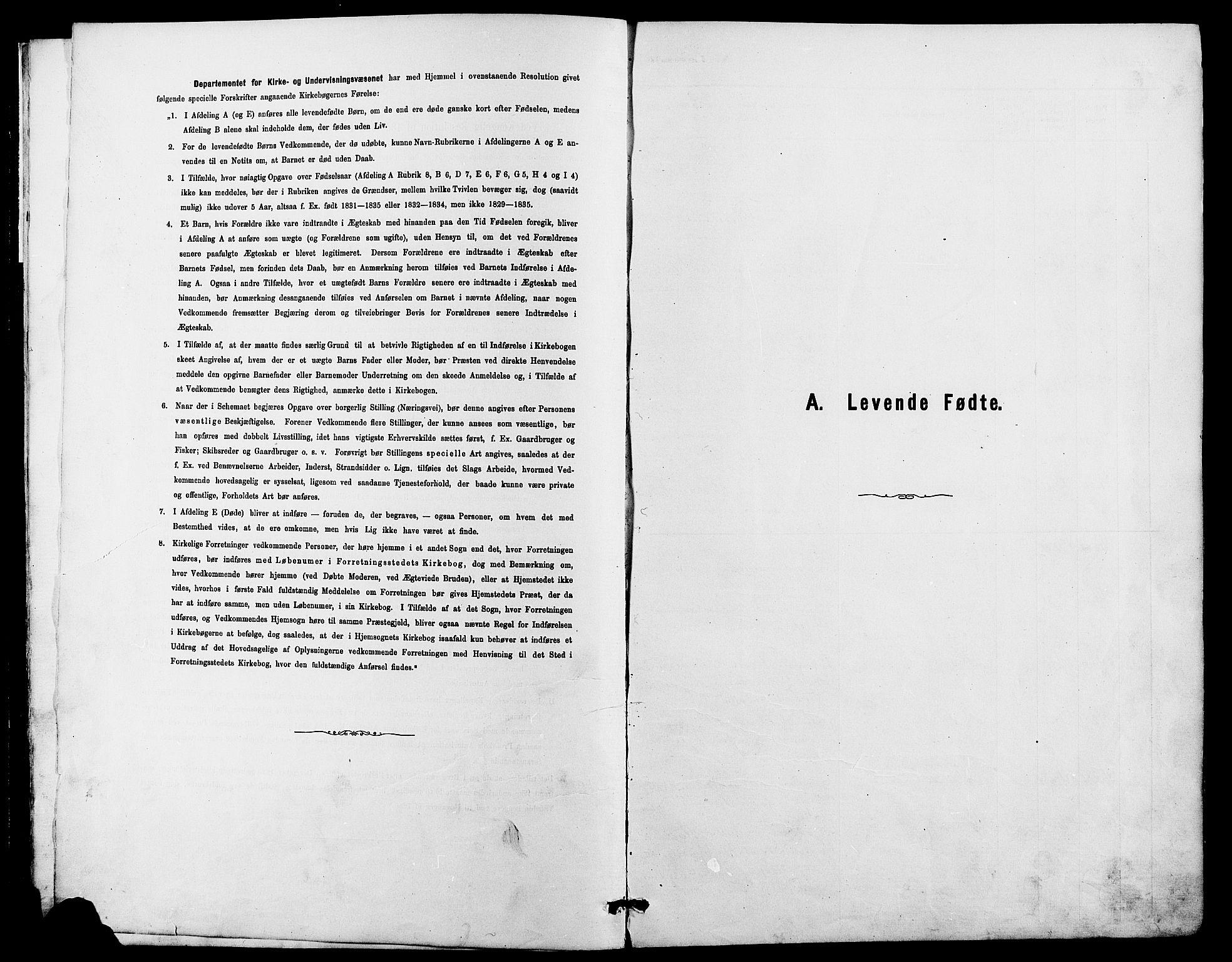 SAH, Dovre prestekontor, Klokkerbok nr. 2, 1881-1907