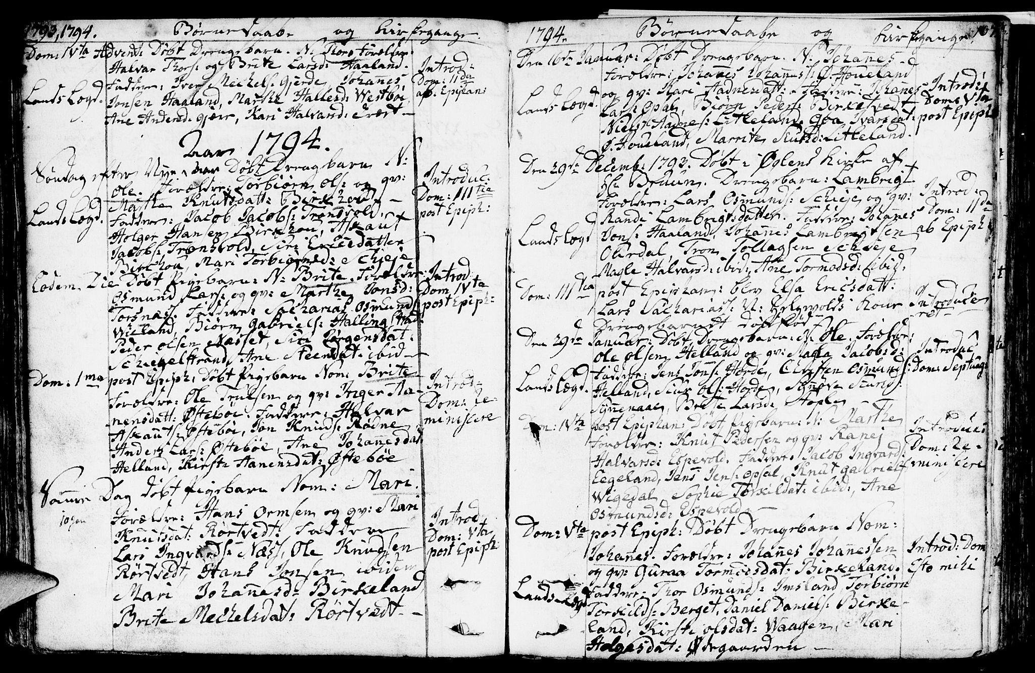 SAST, Vikedal sokneprestkontor, IV: Ministerialbok nr. A 2, 1779-1817, s. 107