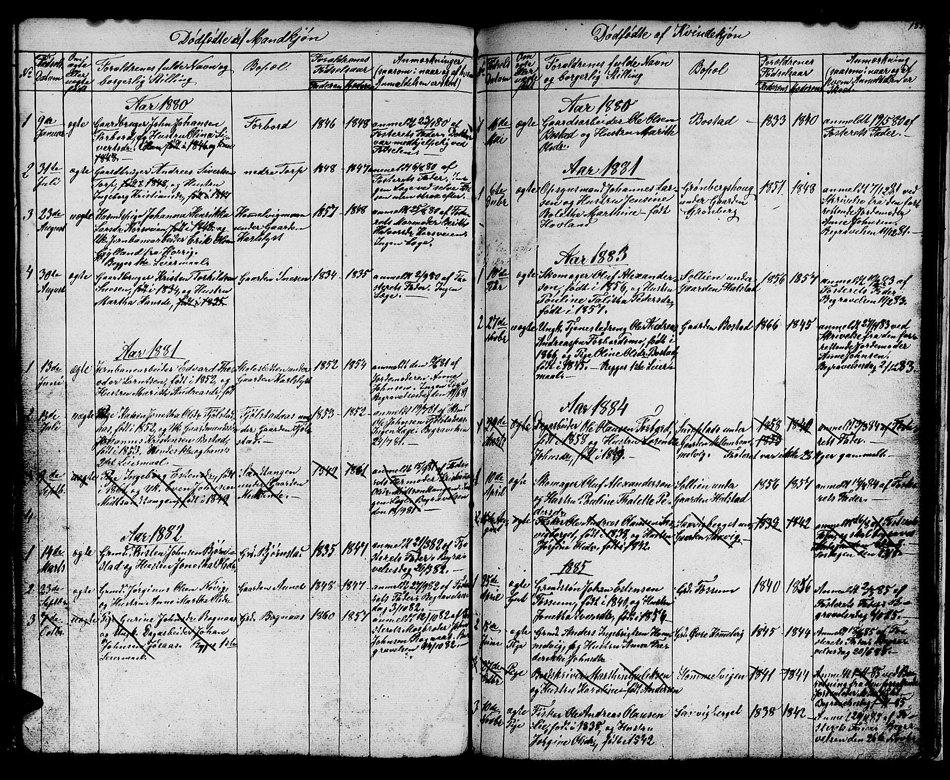 SAT, Ministerialprotokoller, klokkerbøker og fødselsregistre - Sør-Trøndelag, 616/L0422: Klokkerbok nr. 616C05, 1850-1888, s. 183