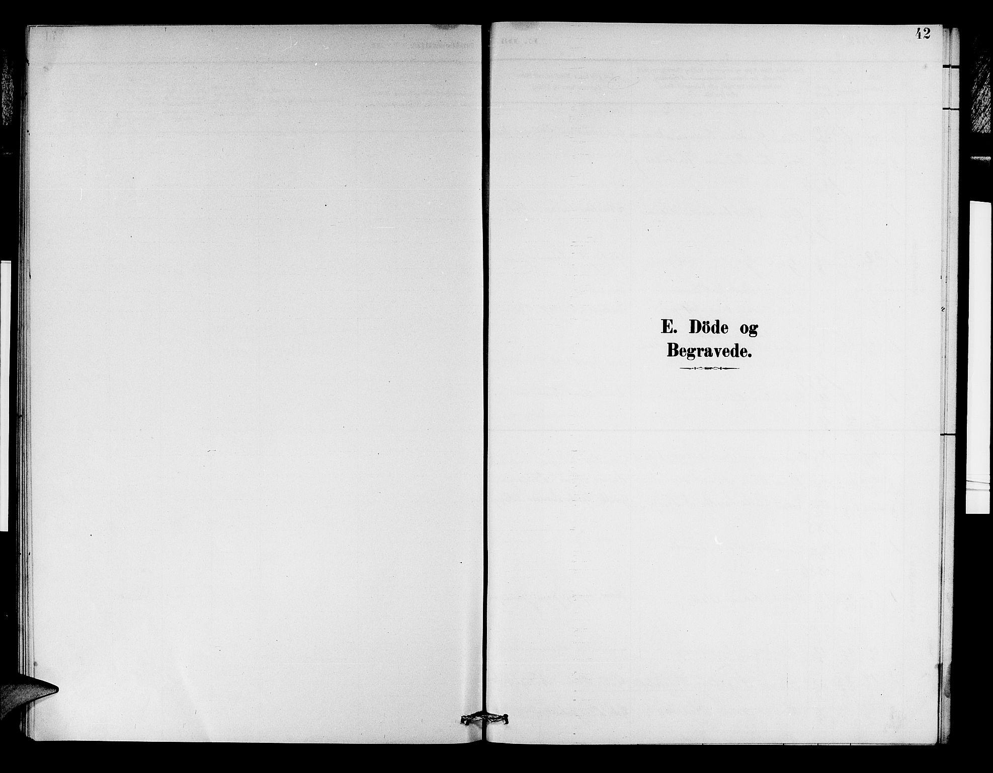 SAB, Aurland Sokneprestembete*, Klokkerbok nr. D 2, 1883-1920, s. 42