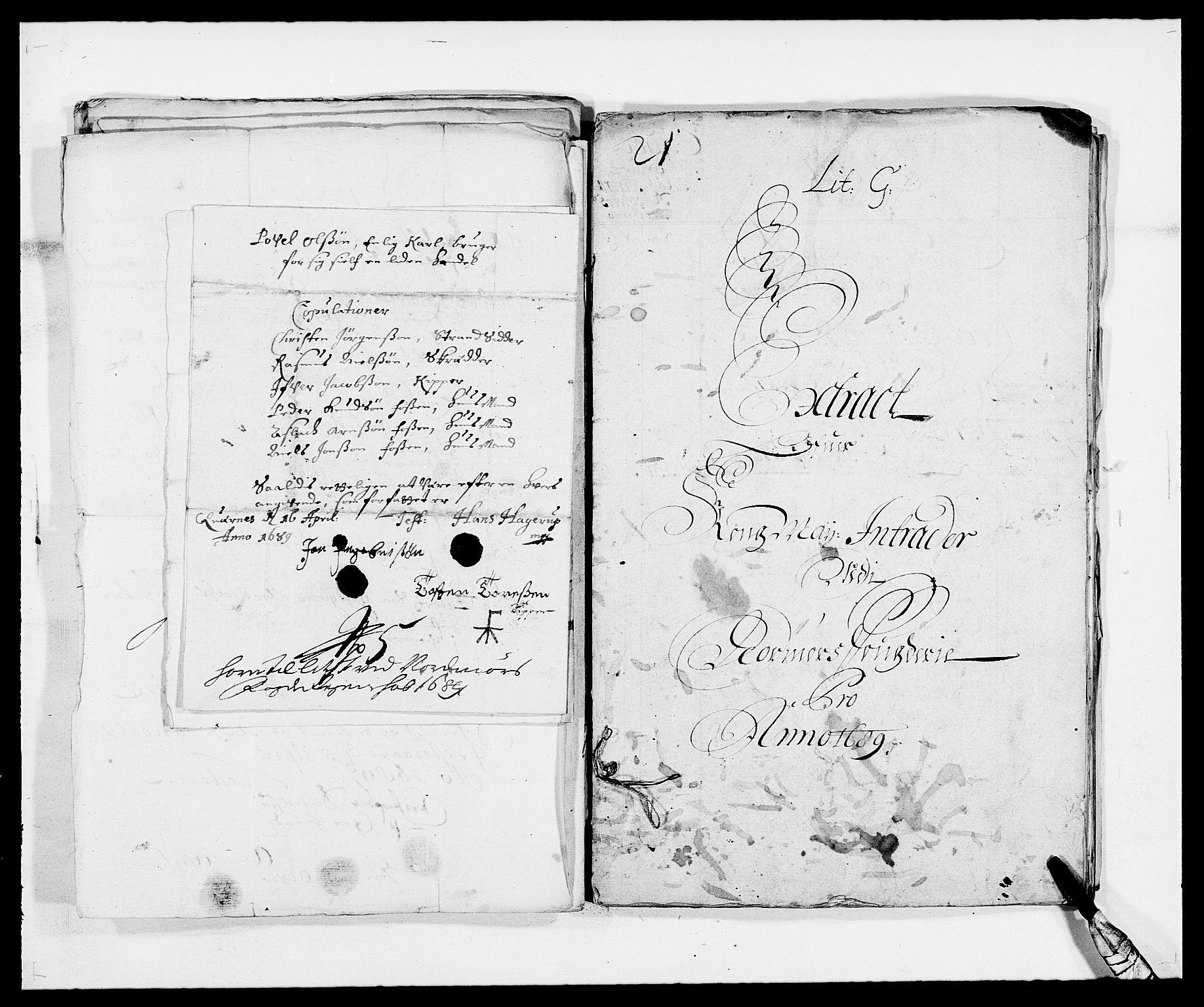 RA, Rentekammeret inntil 1814, Reviderte regnskaper, Fogderegnskap, R56/L3733: Fogderegnskap Nordmøre, 1687-1689, s. 341