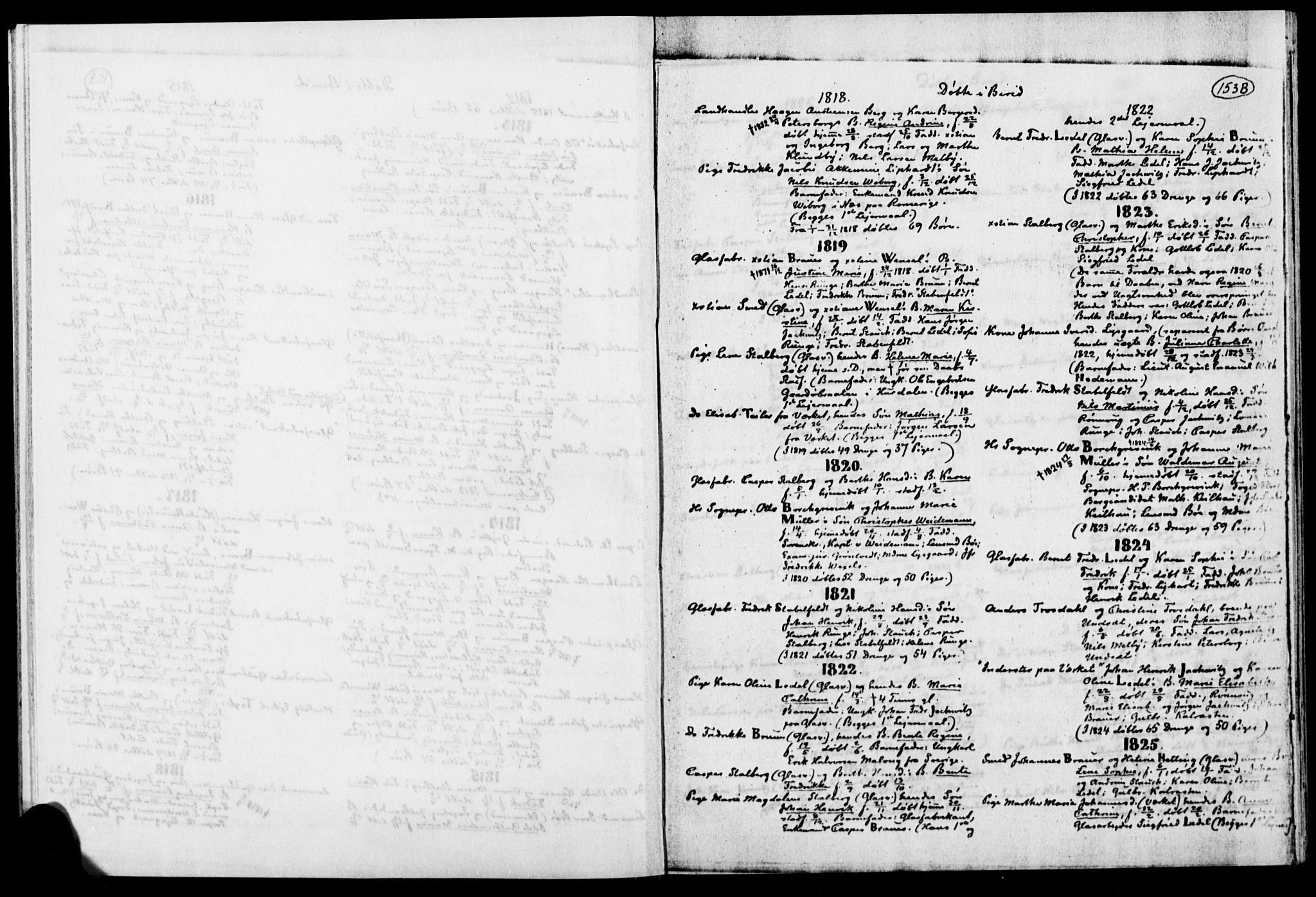 SAH, Biri prestekontor, Ministerialbok, 1730-1879, s. 153b