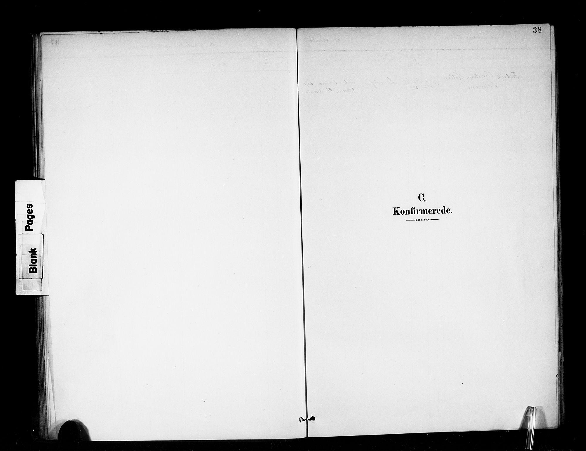 SAB, Den Norske Sjømannsmisjon i utlandet*, Ministerialbok nr. A 3, 1888-1893, s. 38