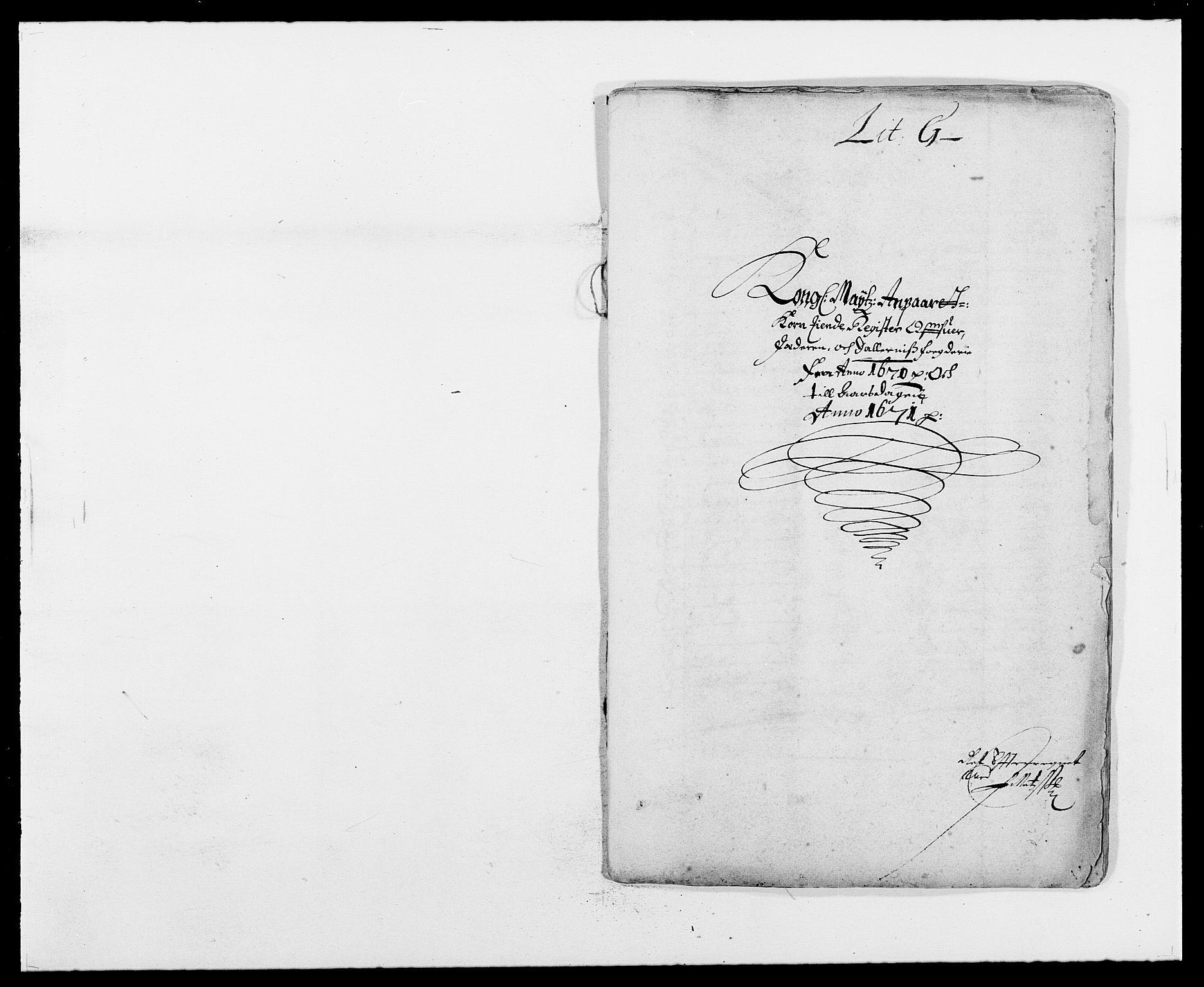 RA, Rentekammeret inntil 1814, Reviderte regnskaper, Fogderegnskap, R46/L2712: Fogderegnskap Jæren og Dalane, 1670-1671, s. 179