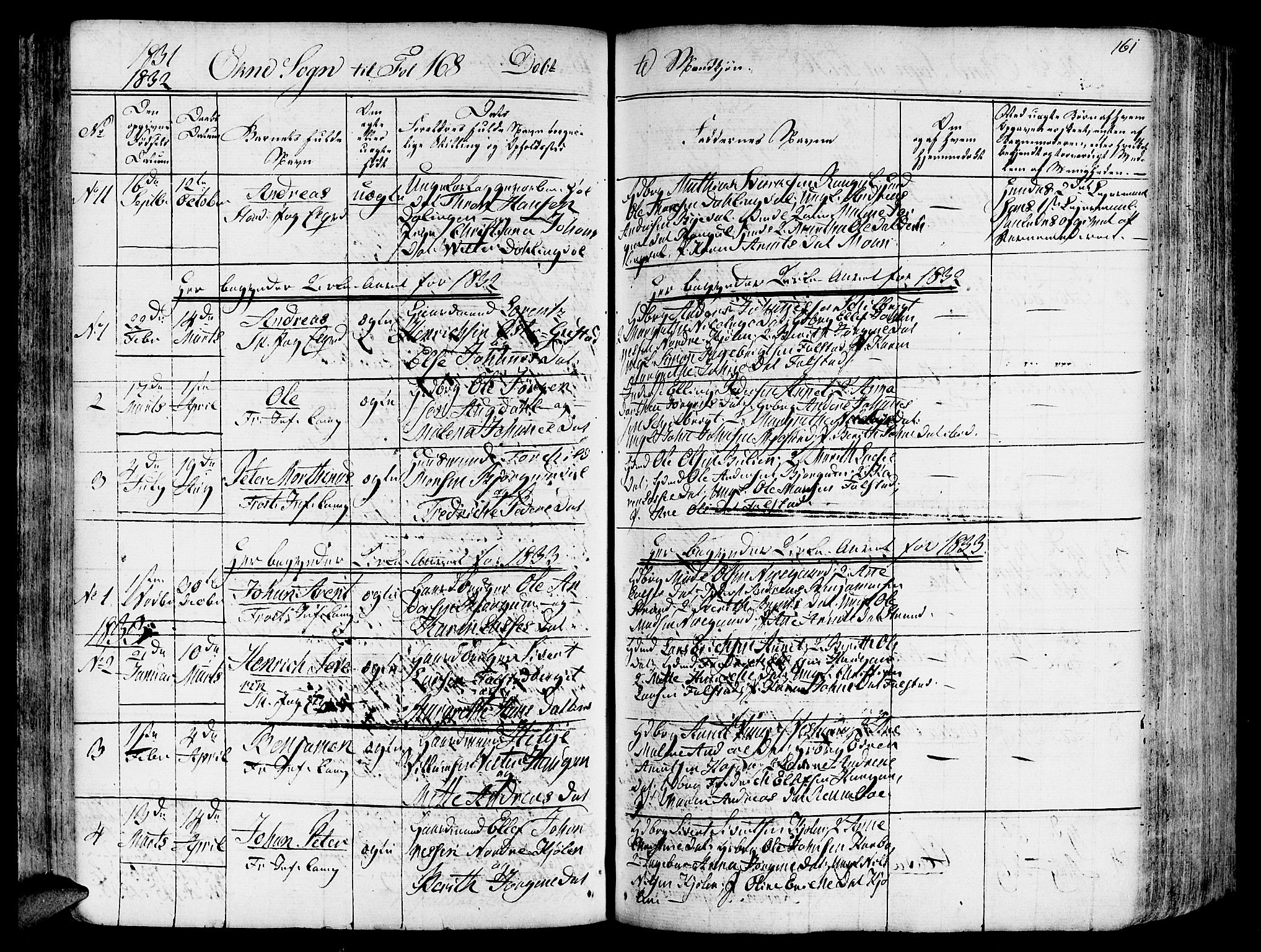 SAT, Ministerialprotokoller, klokkerbøker og fødselsregistre - Nord-Trøndelag, 717/L0152: Ministerialbok nr. 717A05 /2, 1828-1836, s. 161