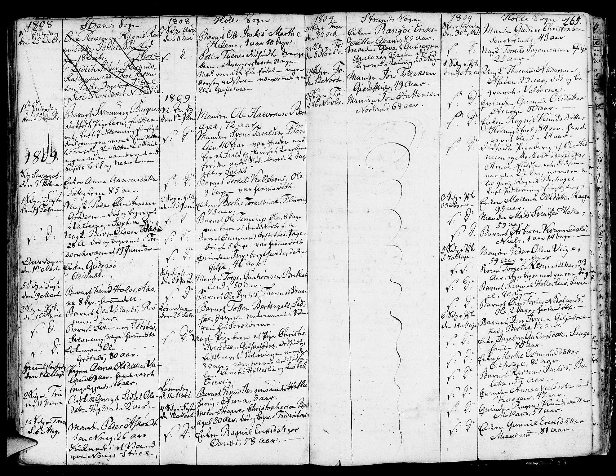 SAST, Strand sokneprestkontor, H/Ha/Haa/L0003: Ministerialbok nr. A 3, 1769-1816, s. 265