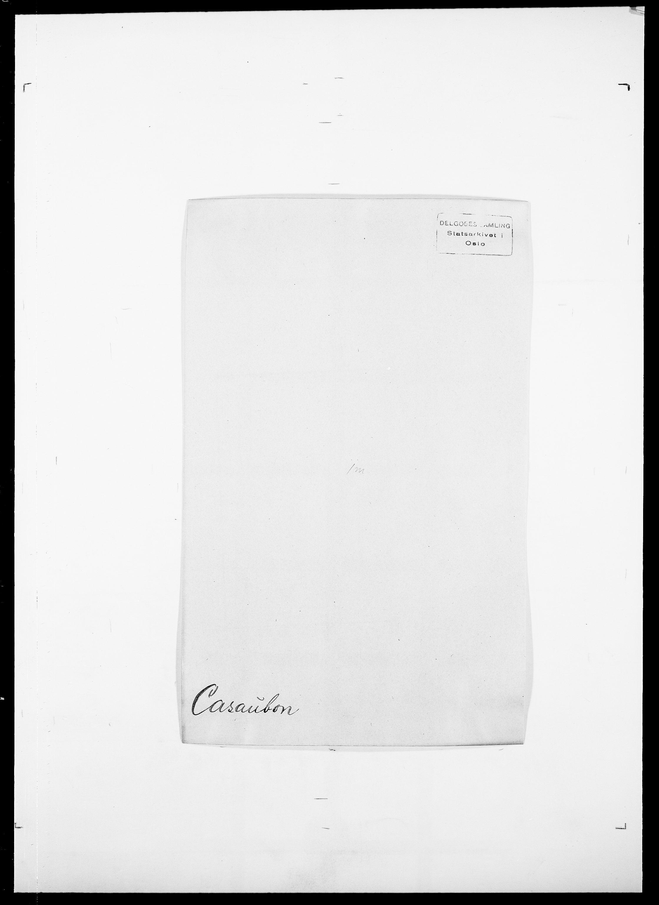 SAO, Delgobe, Charles Antoine - samling, D/Da/L0008: Capjon - Dagenbolt, s. 109