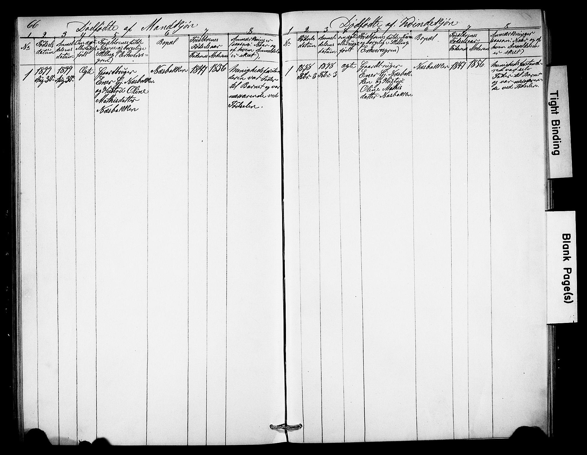 SAH, Misjonsforbundet, 01/L0003: Dissenterprotokoll nr. 3, 1892-1920, s. 66
