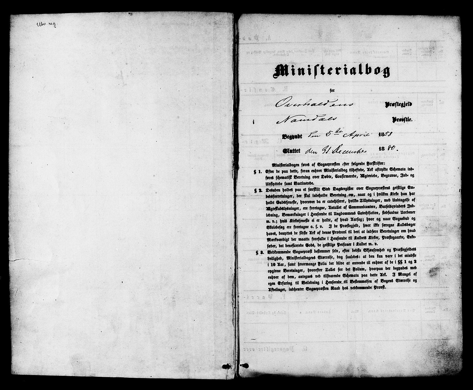 SAT, Ministerialprotokoller, klokkerbøker og fødselsregistre - Nord-Trøndelag, 764/L0553: Ministerialbok nr. 764A08, 1858-1880