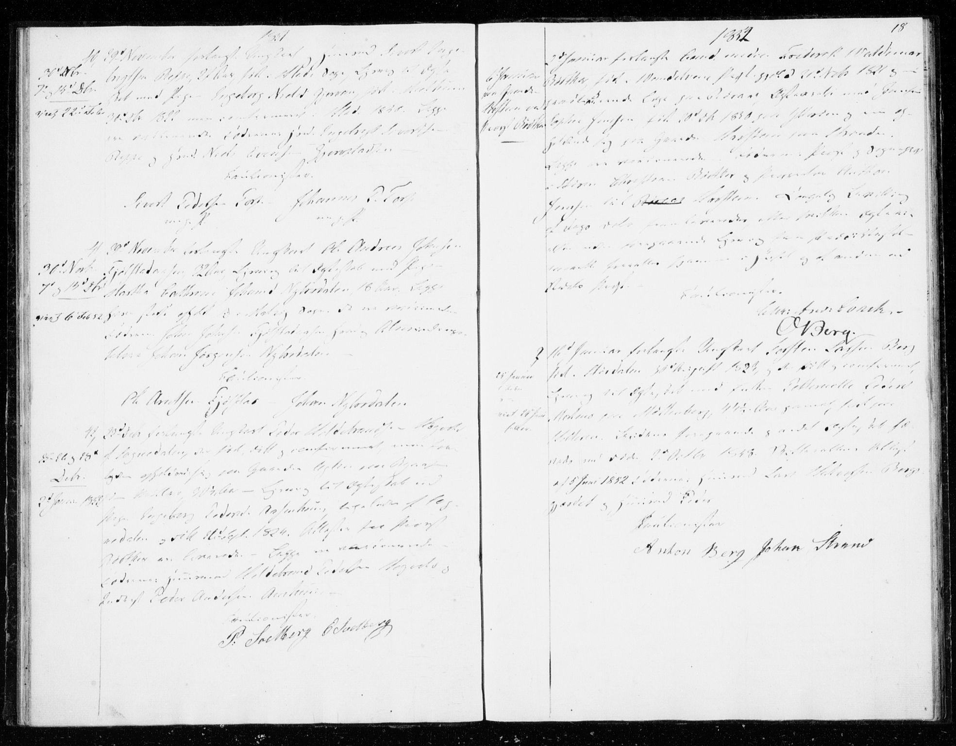 SAT, Ministerialprotokoller, klokkerbøker og fødselsregistre - Sør-Trøndelag, 606/L0296: Lysningsprotokoll nr. 606A11, 1849-1854, s. 18