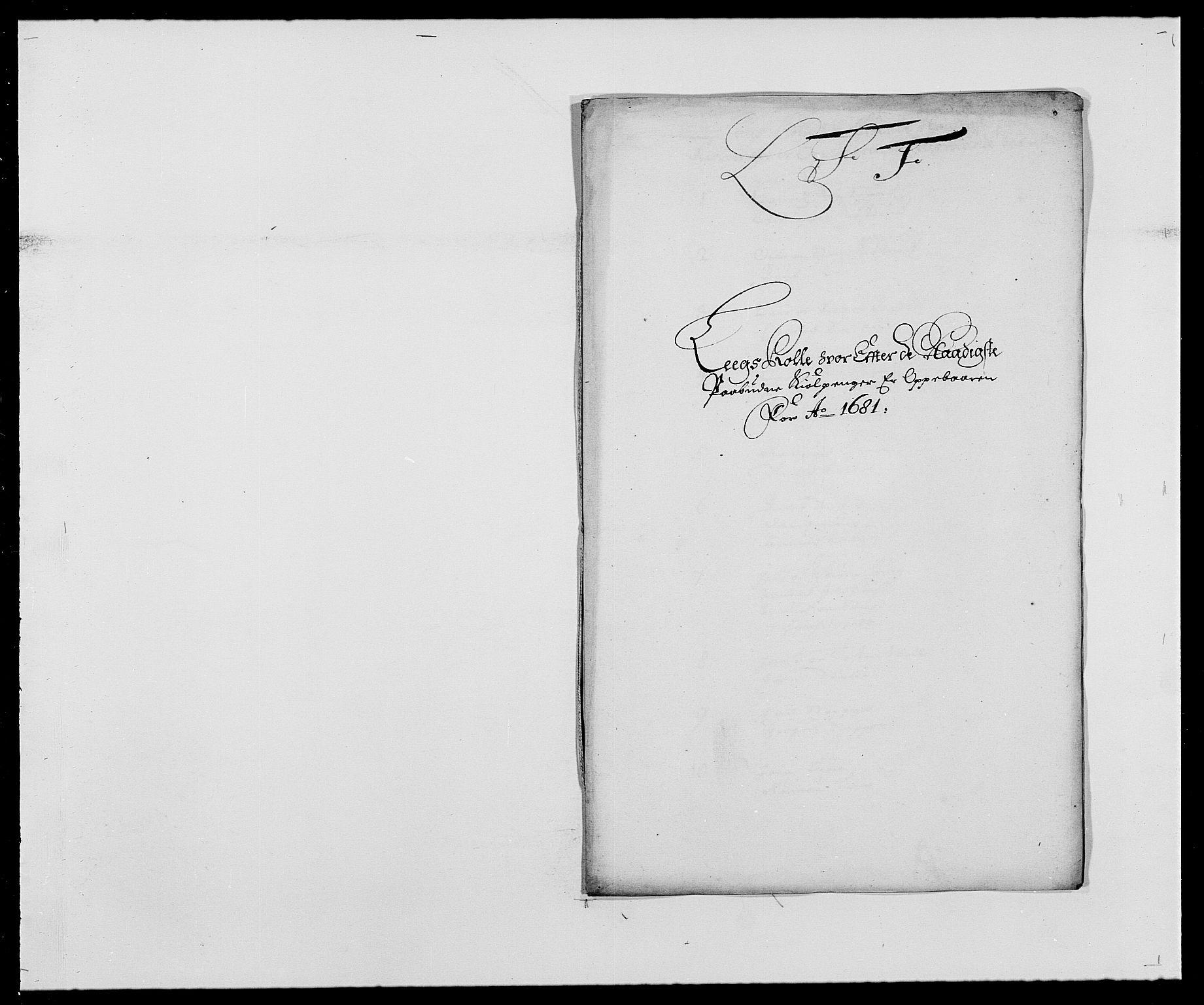 RA, Rentekammeret inntil 1814, Reviderte regnskaper, Fogderegnskap, R27/L1686: Fogderegnskap Lier, 1678-1686, s. 352