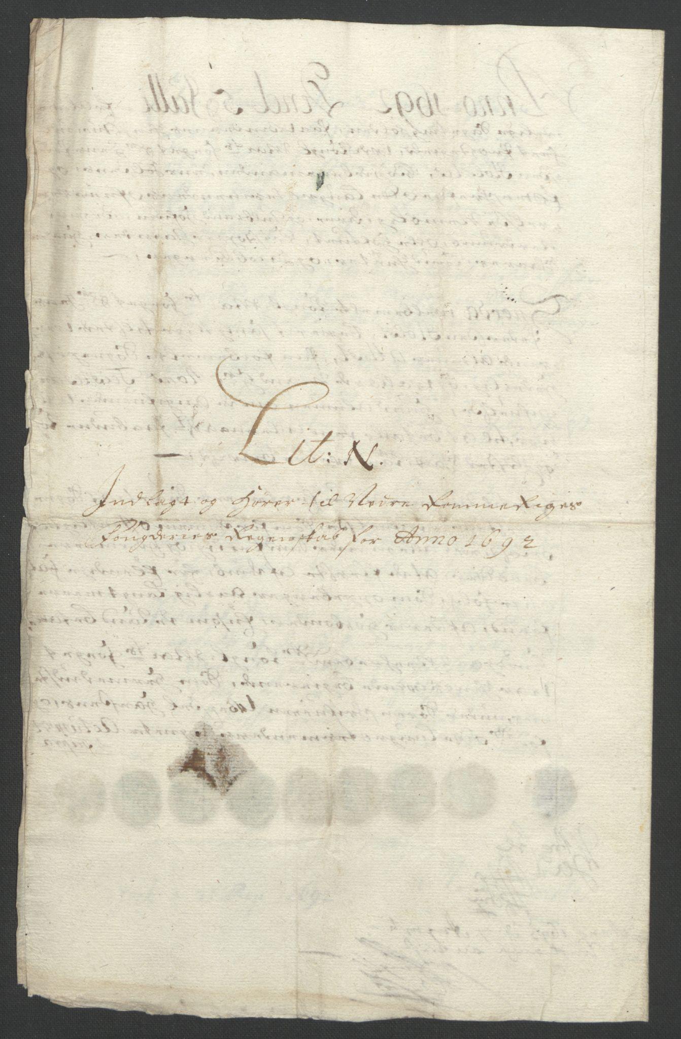 RA, Rentekammeret inntil 1814, Reviderte regnskaper, Fogderegnskap, R11/L0577: Fogderegnskap Nedre Romerike, 1692, s. 205