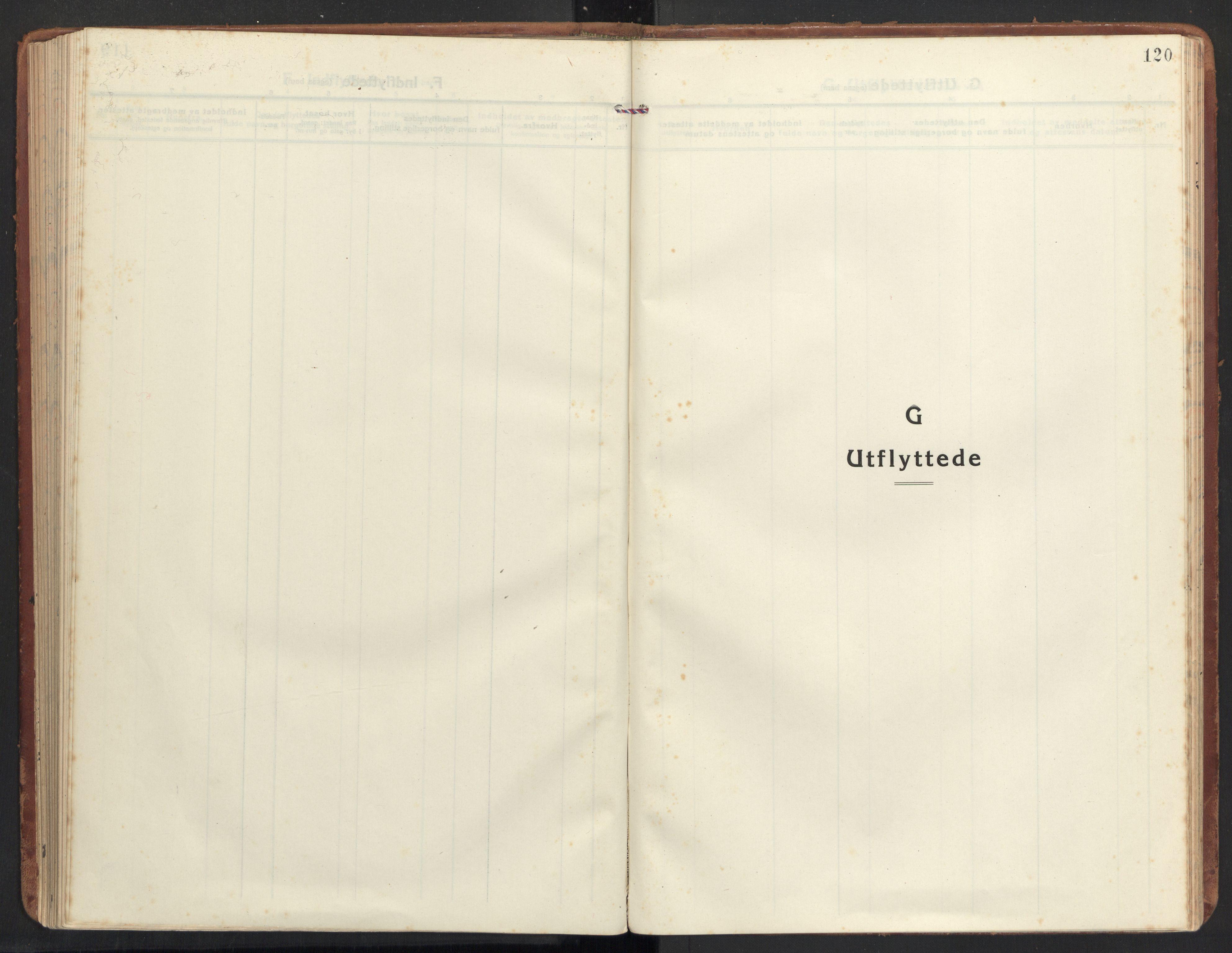 SAT, Ministerialprotokoller, klokkerbøker og fødselsregistre - Møre og Romsdal, 504/L0058: Ministerialbok nr. 504A05, 1920-1940, s. 120