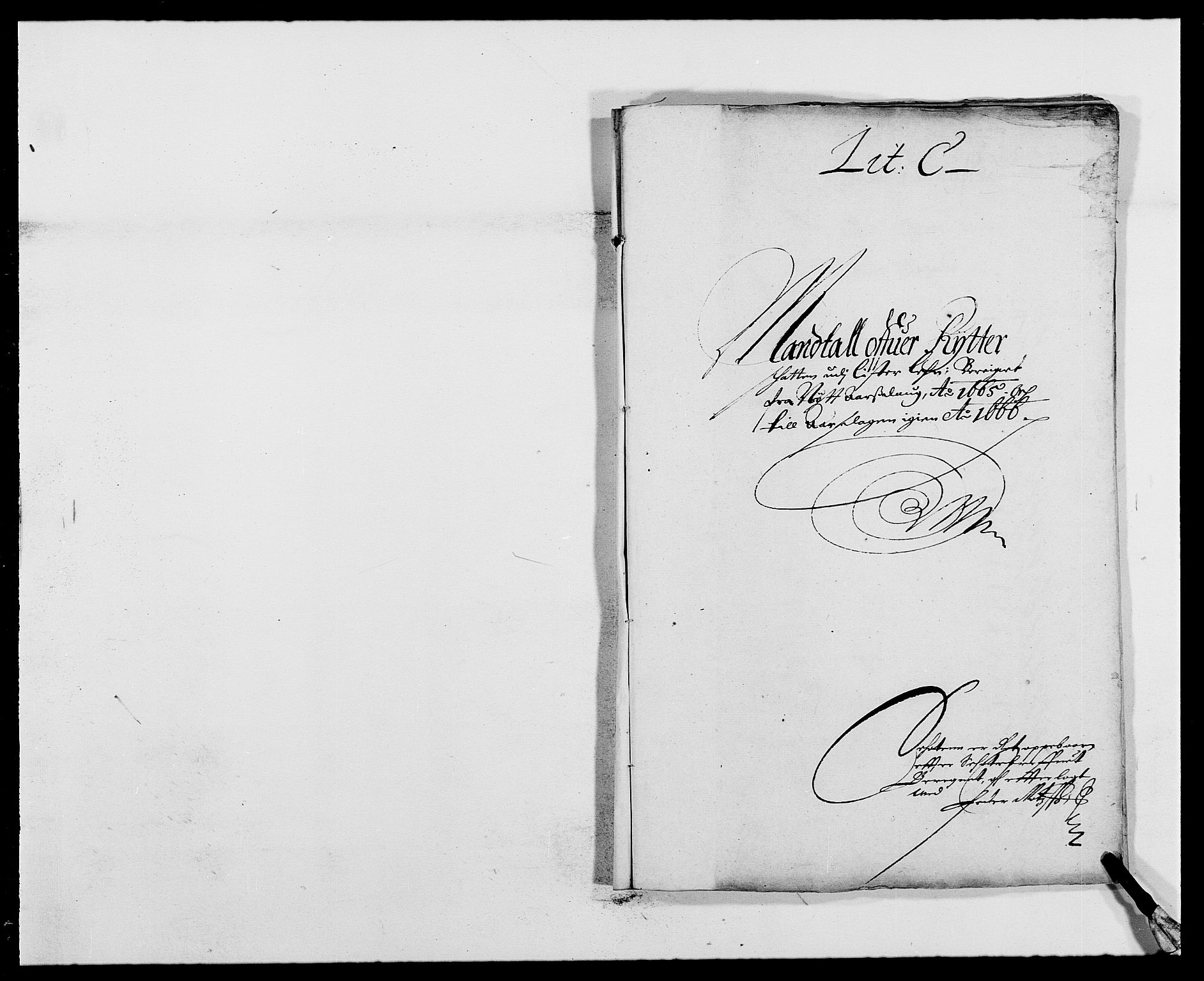 RA, Rentekammeret inntil 1814, Reviderte regnskaper, Fogderegnskap, R41/L2524: Fogderegnskap Lista, 1665-1668, s. 48