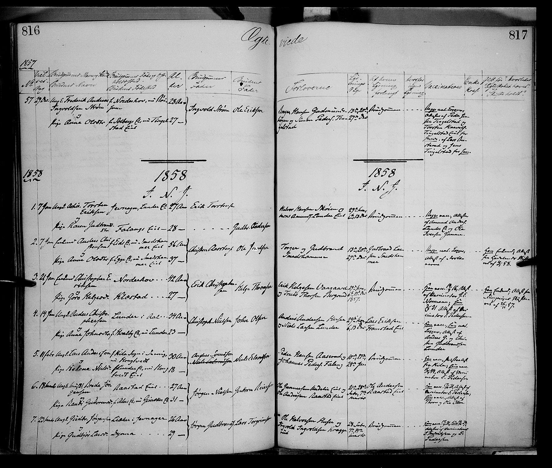 SAH, Gran prestekontor, Ministerialbok nr. 12, 1856-1874, s. 816-817