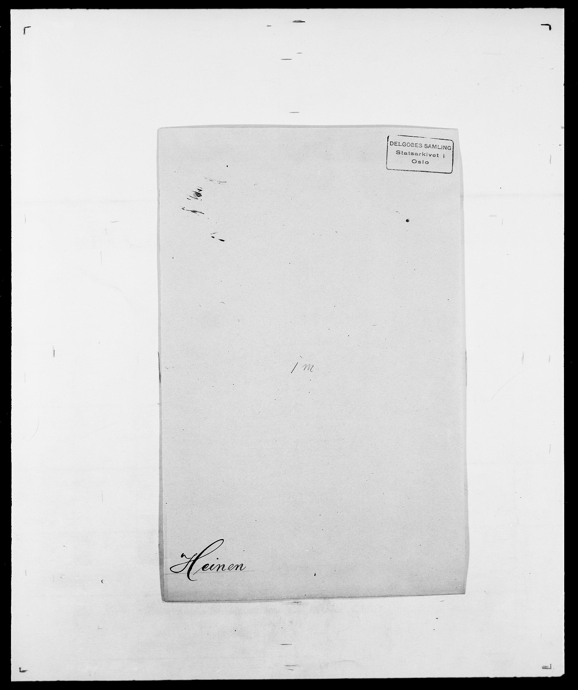 SAO, Delgobe, Charles Antoine - samling, D/Da/L0016: Hamborg - Hektoen, s. 843