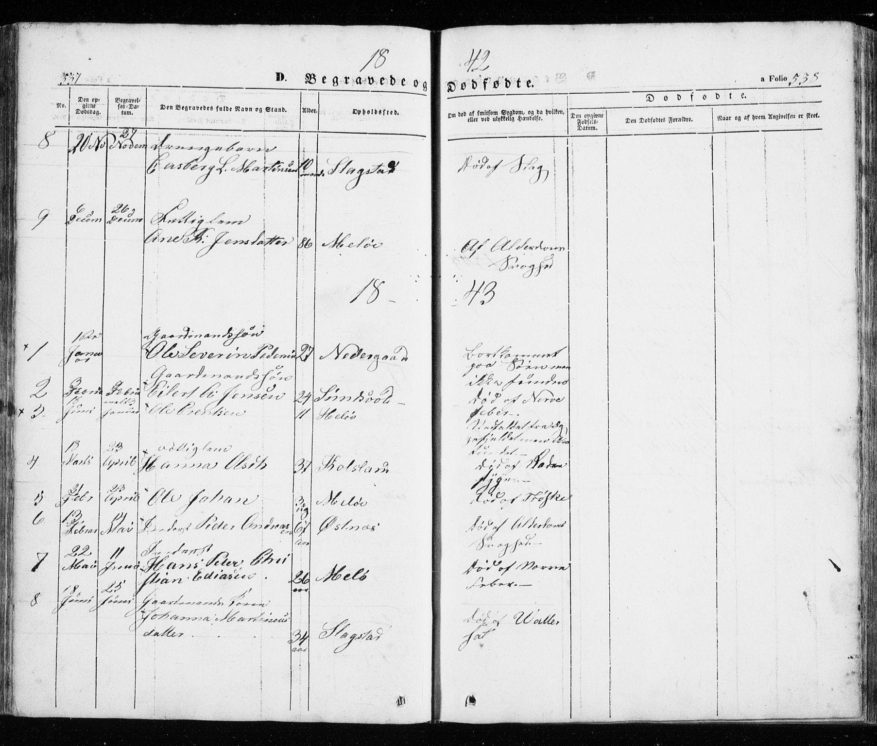 SATØ, Trondenes sokneprestkontor, H/Ha/L0010kirke: Ministerialbok nr. 10, 1840-1865, s. 537-538