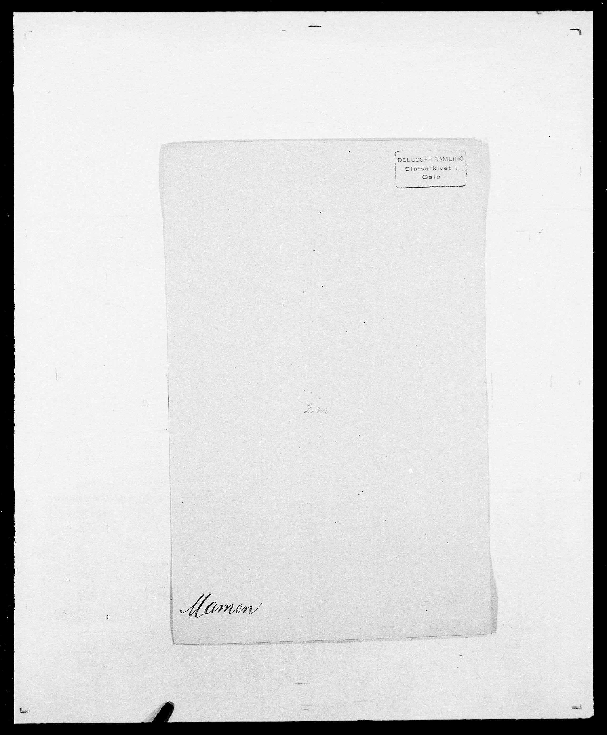 SAO, Delgobe, Charles Antoine - samling, D/Da/L0025: Løberg - Mazar, s. 281