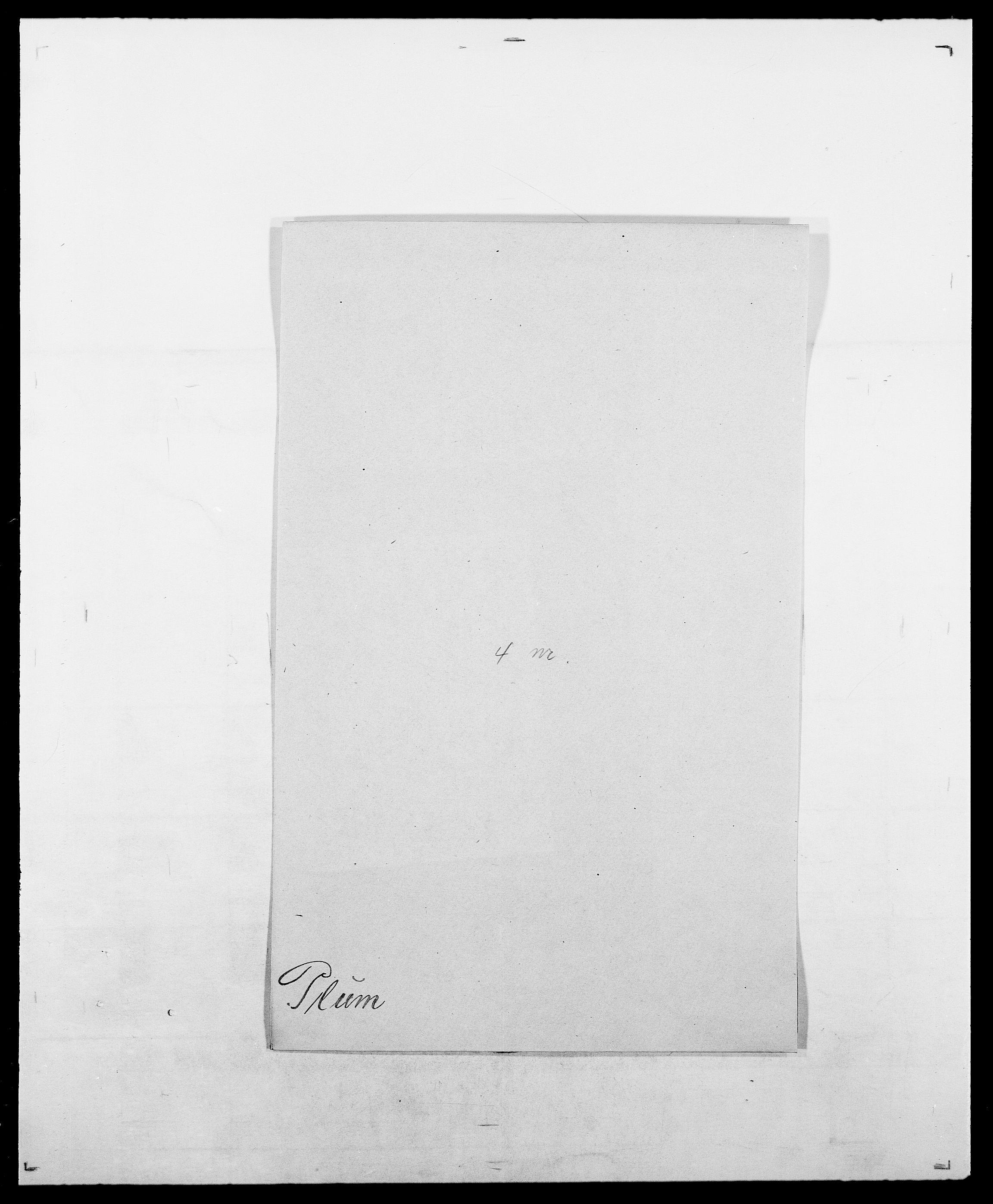 SAO, Delgobe, Charles Antoine - samling, D/Da/L0031: de Place - Raaum, s. 140