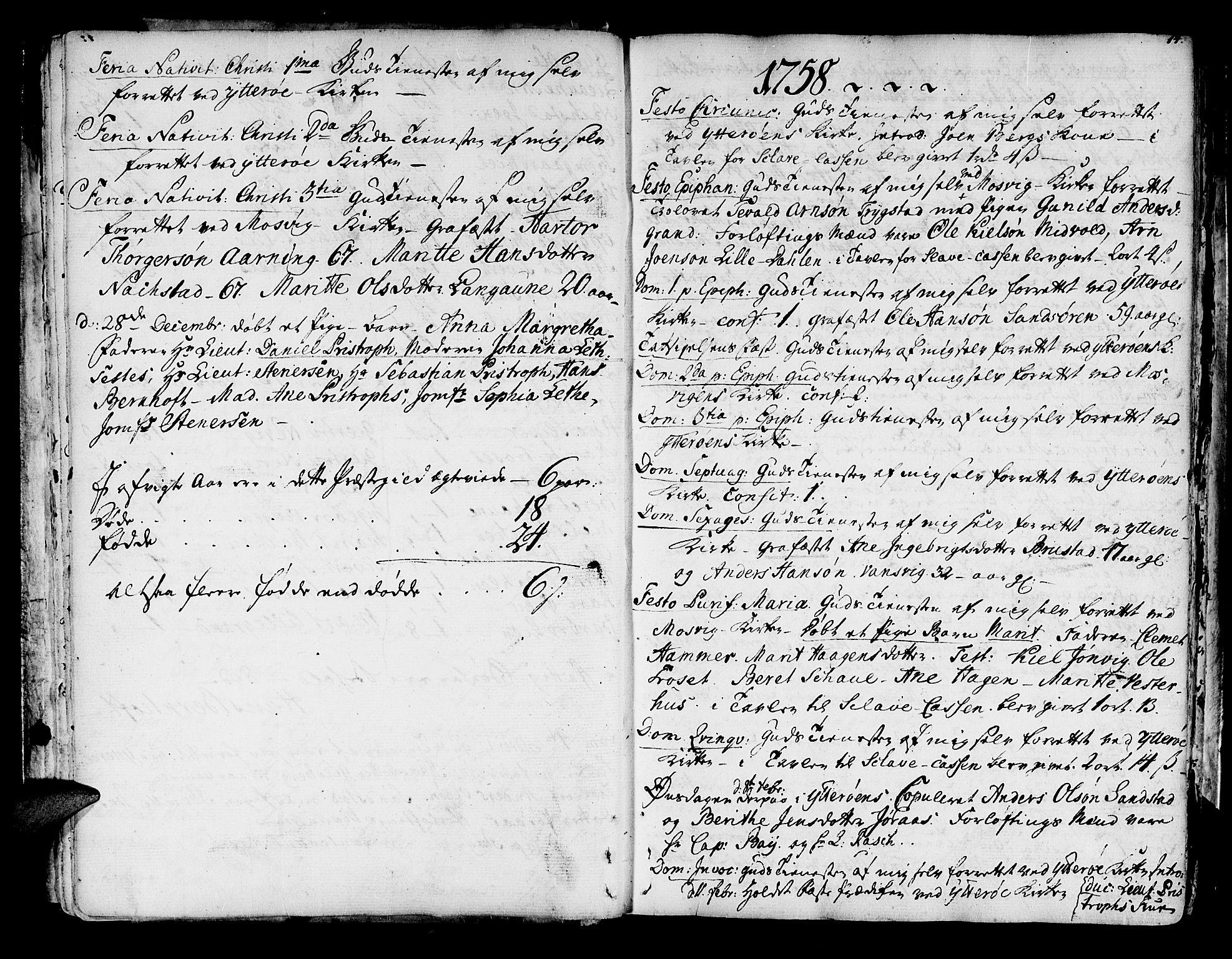 SAT, Ministerialprotokoller, klokkerbøker og fødselsregistre - Nord-Trøndelag, 722/L0216: Ministerialbok nr. 722A03, 1756-1816, s. 14