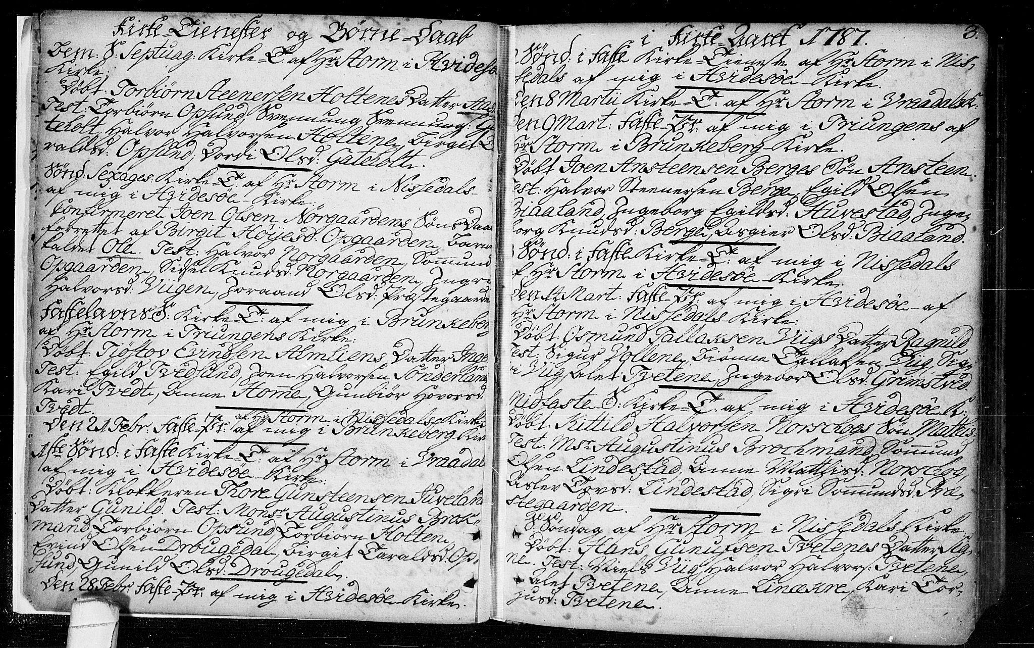 SAKO, Kviteseid kirkebøker, F/Fa/L0003: Ministerialbok nr. I 3, 1787-1799, s. 3