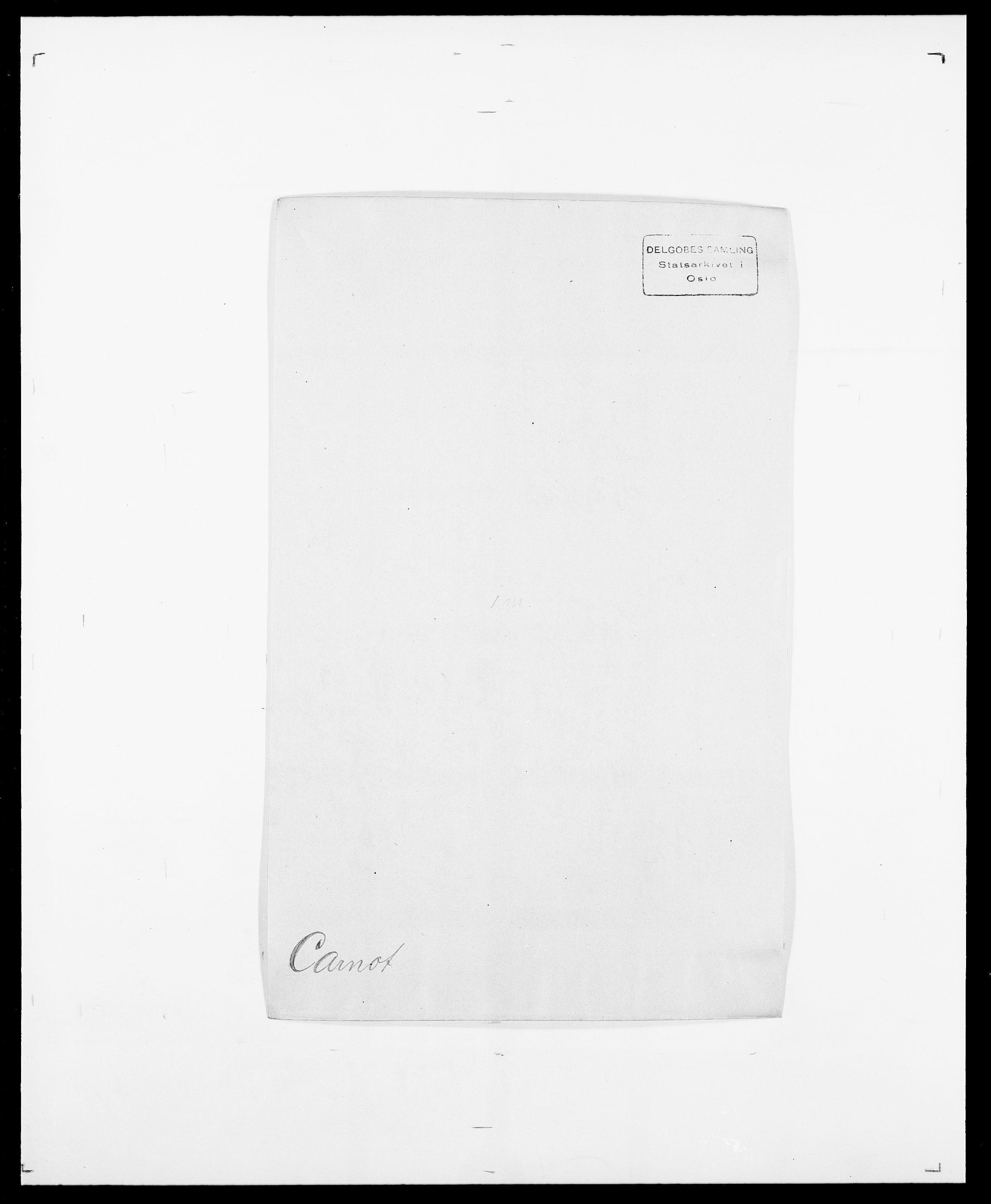 SAO, Delgobe, Charles Antoine - samling, D/Da/L0008: Capjon - Dagenbolt, s. 77