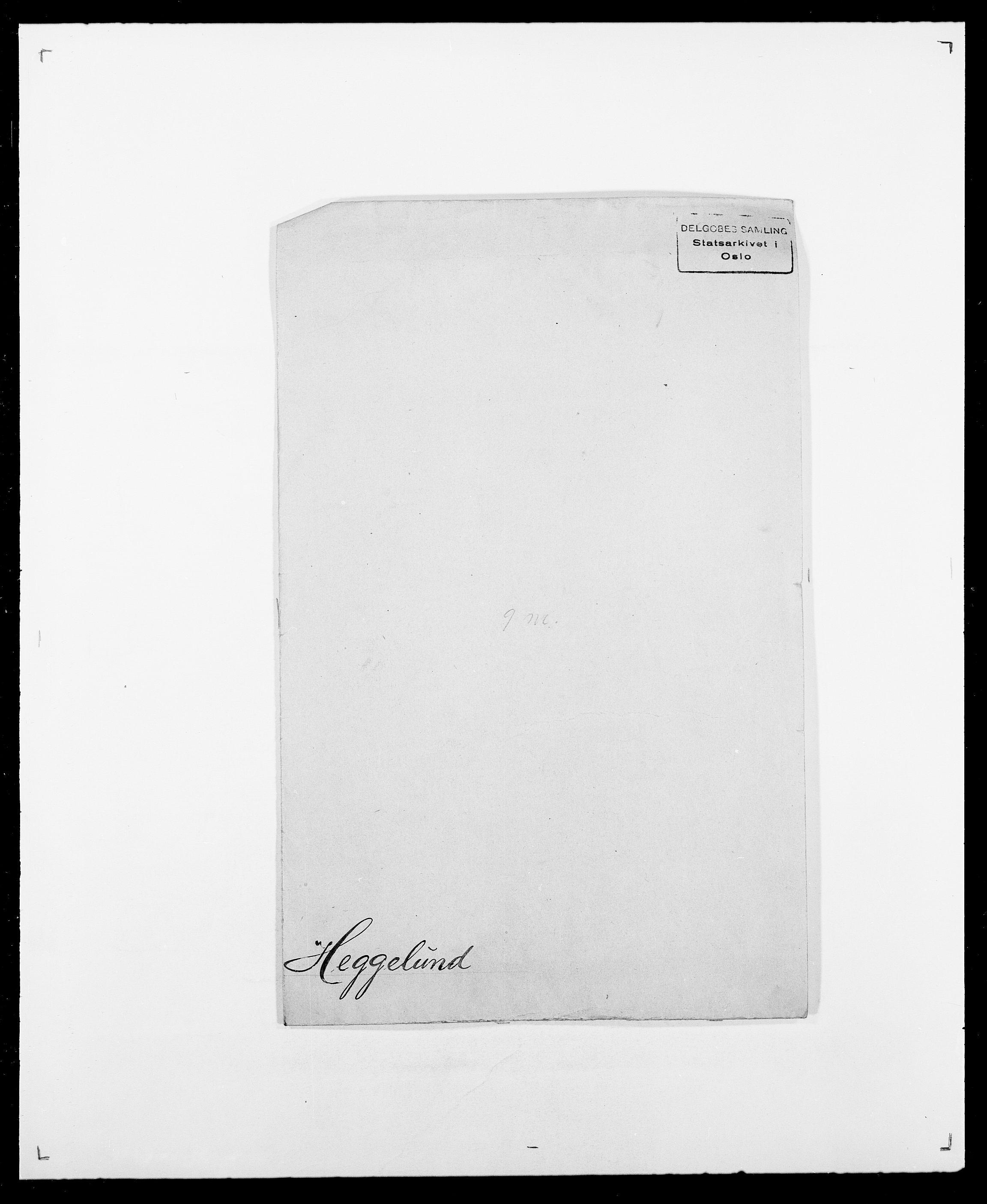 SAO, Delgobe, Charles Antoine - samling, D/Db/L0001: Tilleggspakke, s. 209