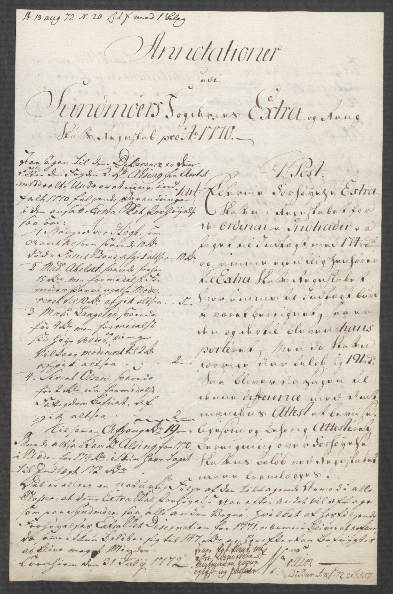 RA, Rentekammeret inntil 1814, Reviderte regnskaper, Fogderegnskap, R54/L3645: Ekstraskatten Sunnmøre, 1762-1772, s. 212