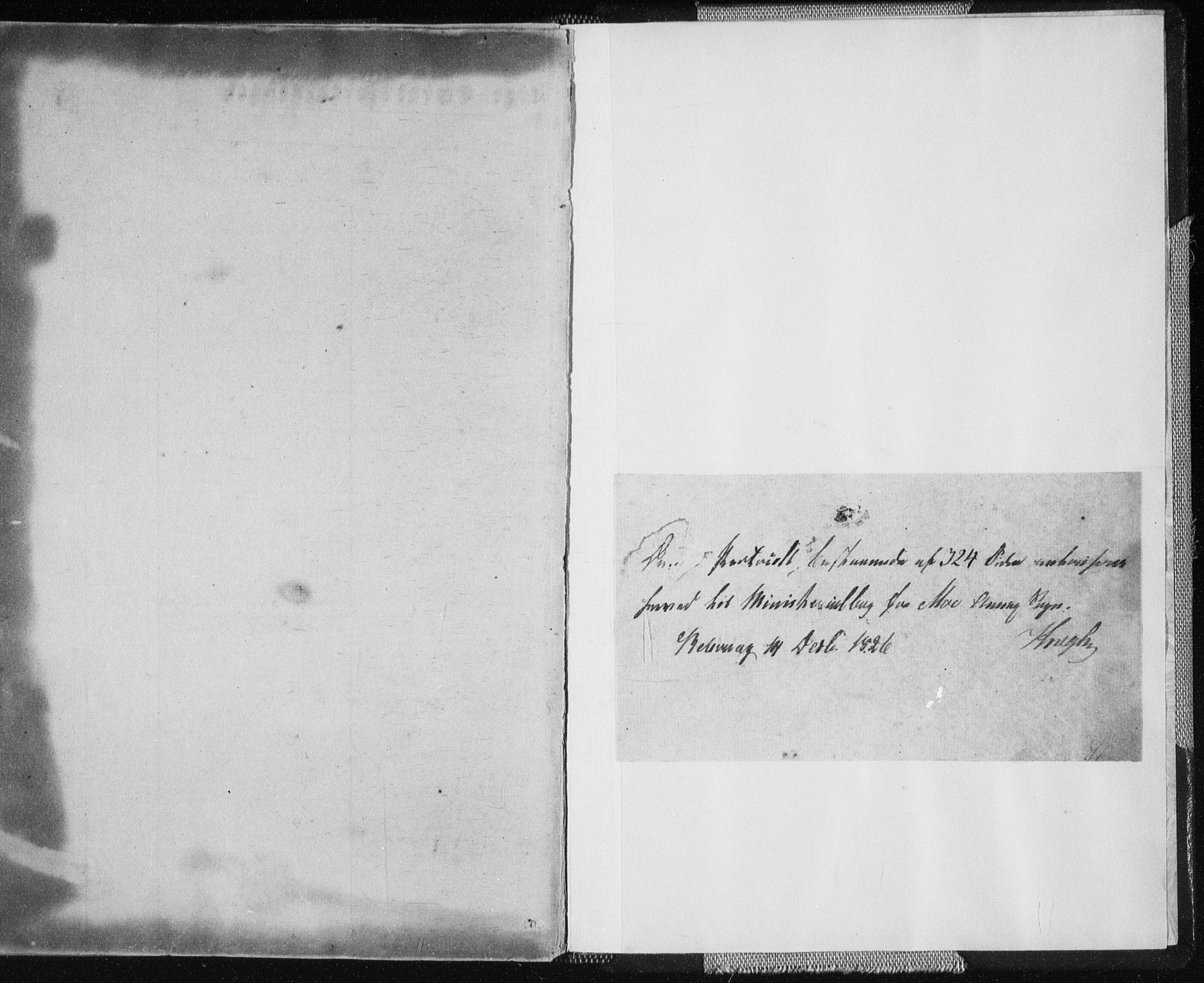 SAT, Ministerialprotokoller, klokkerbøker og fødselsregistre - Nordland, 827/L0390: Ministerialbok nr. 827A02, 1826-1841