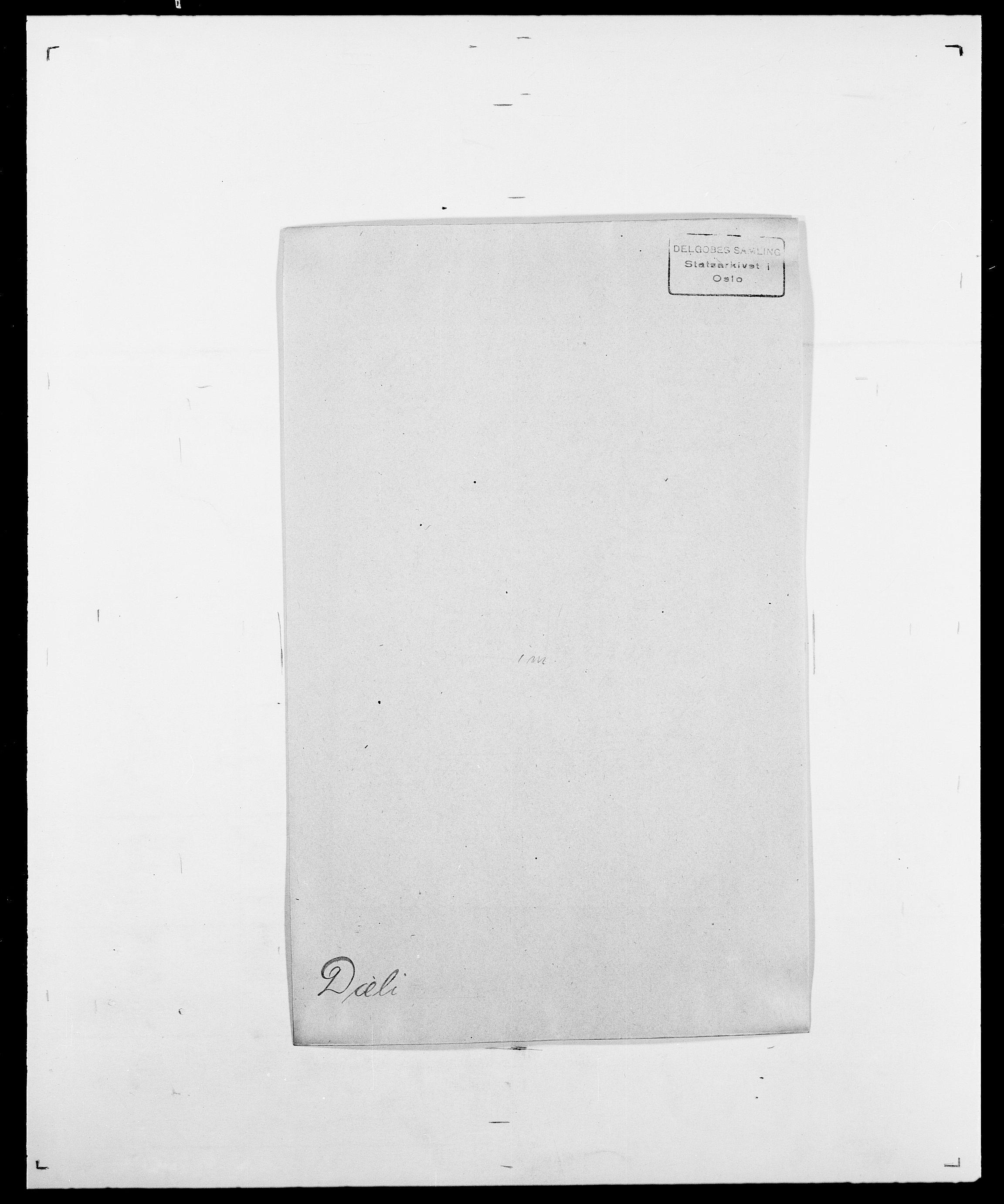 SAO, Delgobe, Charles Antoine - samling, D/Da/L0010: Dürendahl - Fagelund, s. 39