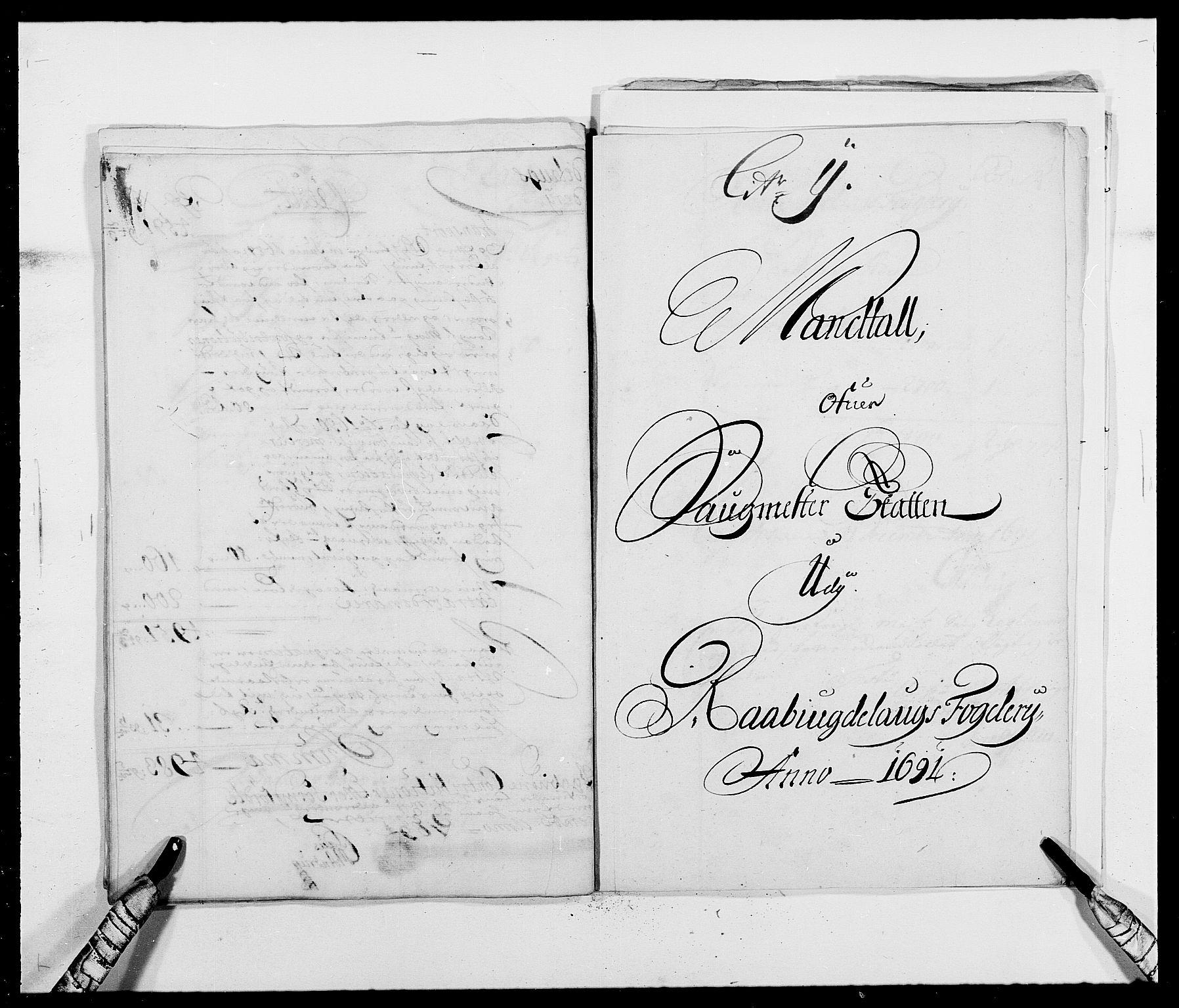 RA, Rentekammeret inntil 1814, Reviderte regnskaper, Fogderegnskap, R40/L2443: Fogderegnskap Råbyggelag, 1691-1692, s. 51