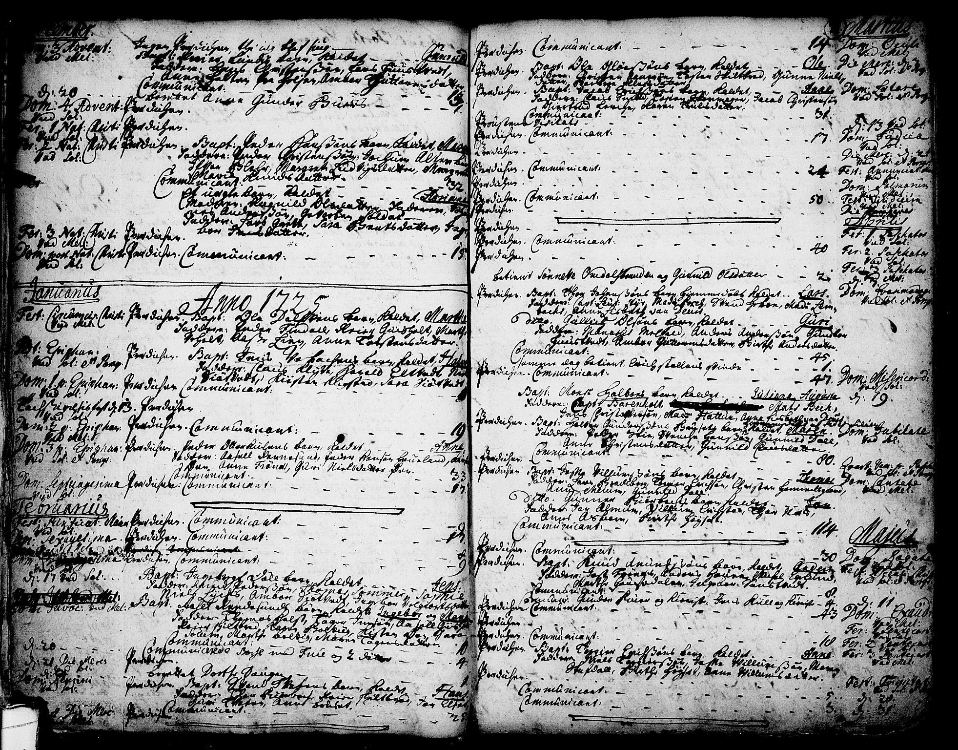 SAKO, Solum kirkebøker, F/Fa/L0002: Ministerialbok nr. I 2, 1713-1761, s. 29