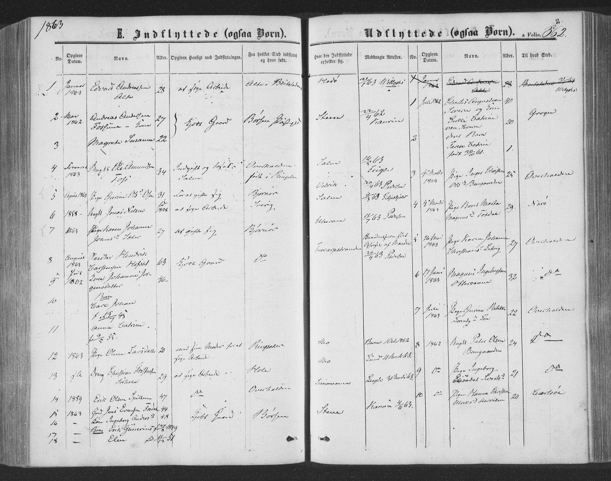 SAT, Ministerialprotokoller, klokkerbøker og fødselsregistre - Nord-Trøndelag, 773/L0615: Ministerialbok nr. 773A06, 1857-1870, s. 362