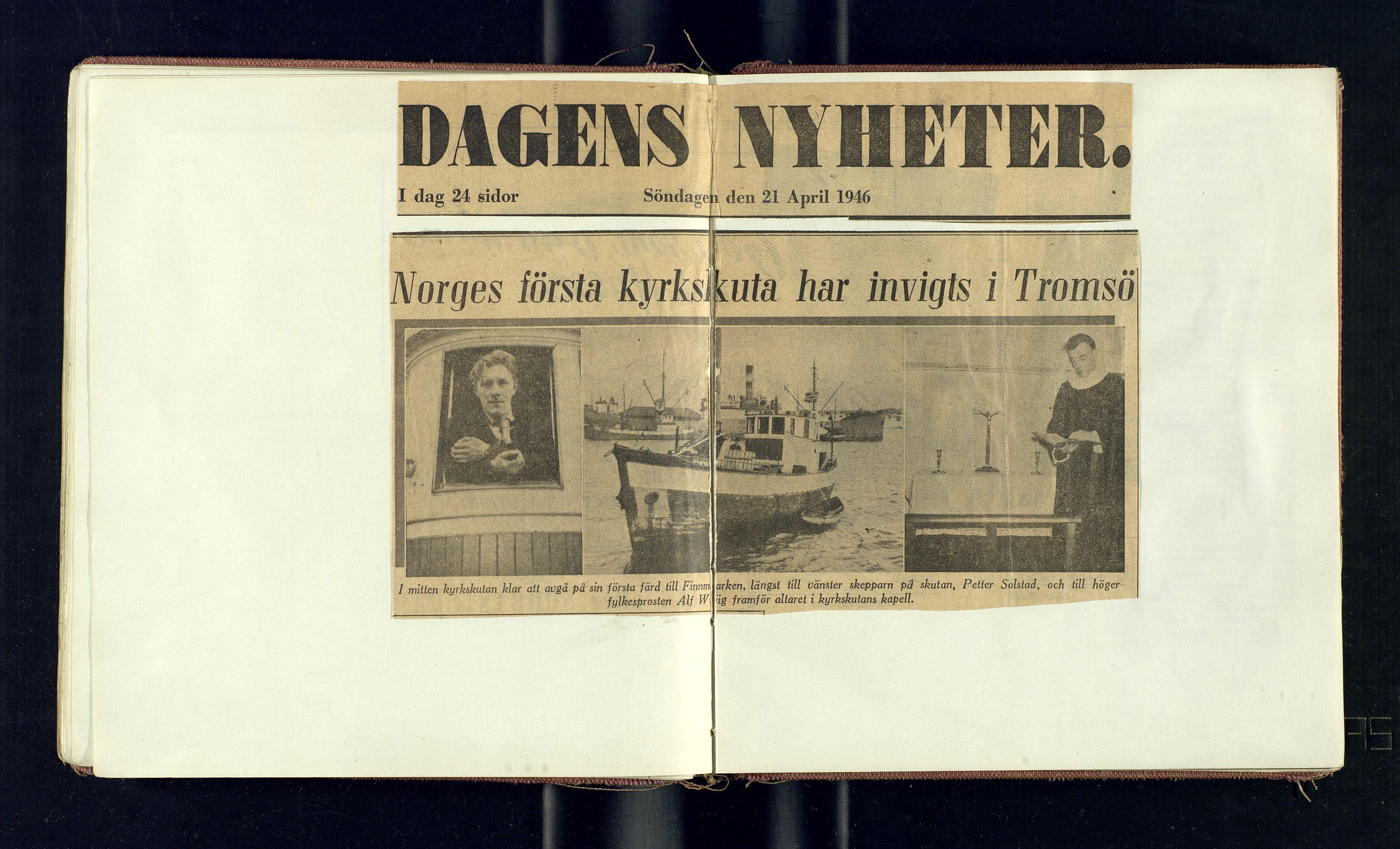 SATØ, Biskopen i Nord-Hålogaland, K/L0563: --, 1946-1983