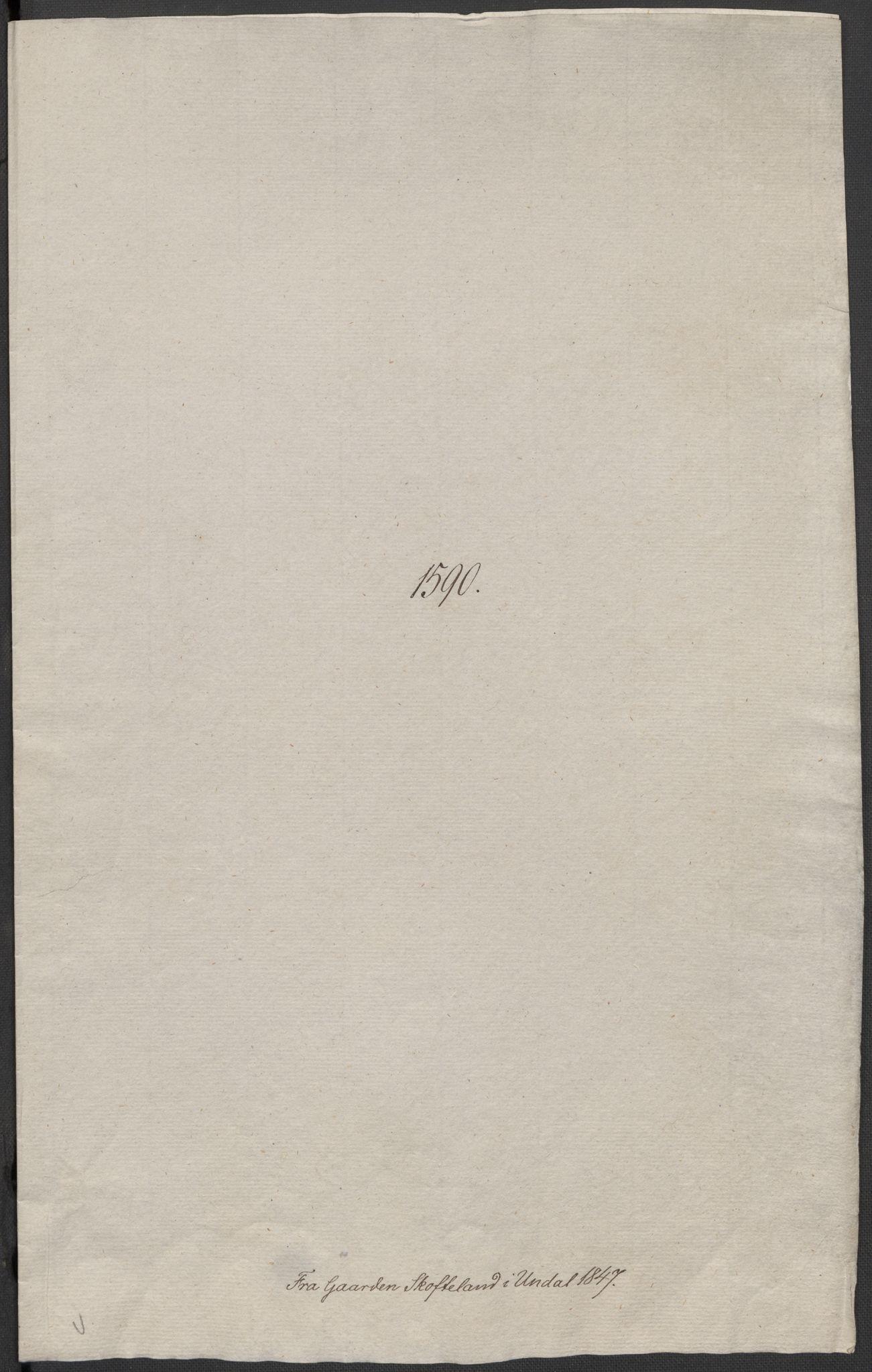 RA, Riksarkivets diplomsamling, F02/L0092: Dokumenter, 1590, s. 38