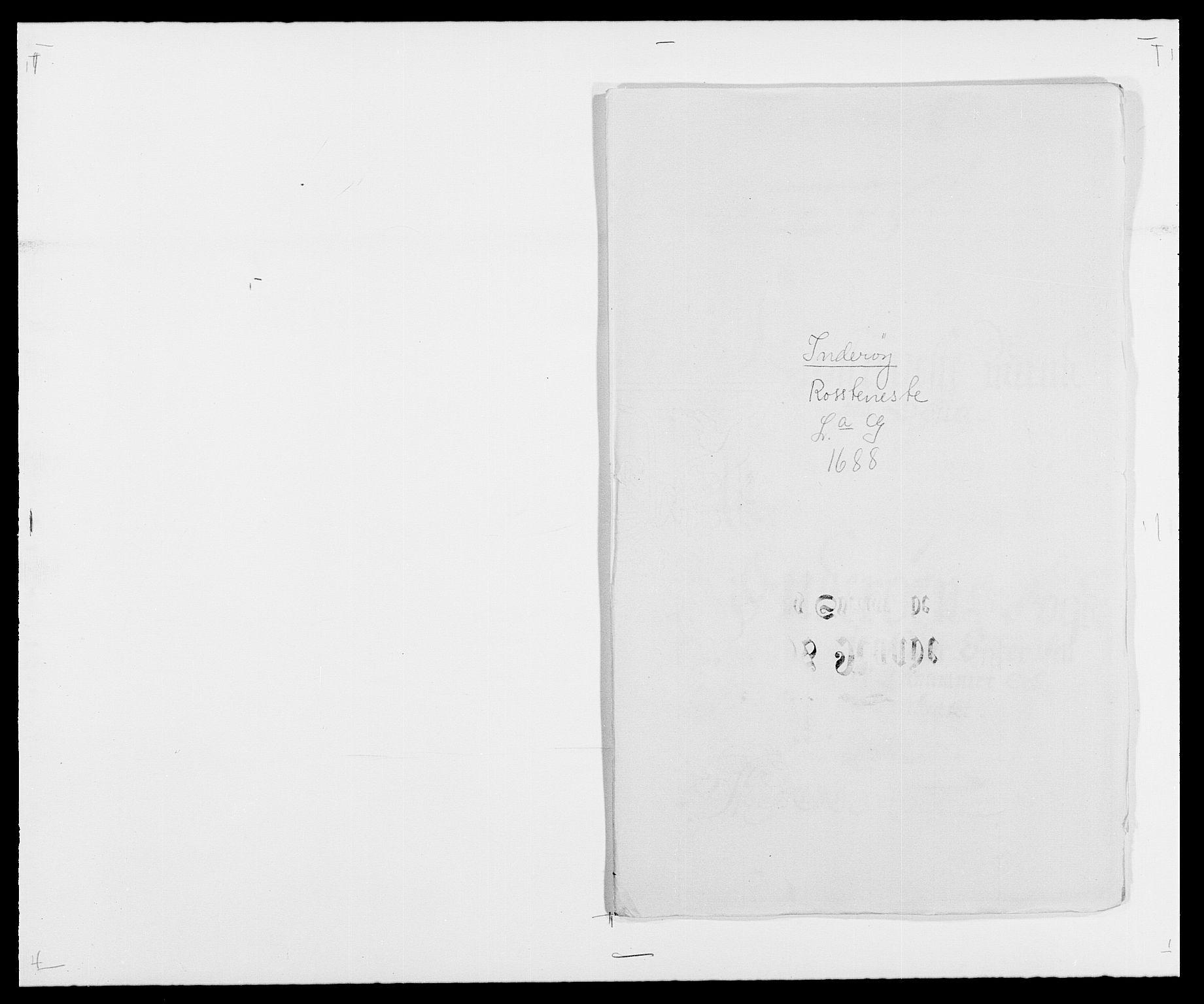 RA, Rentekammeret inntil 1814, Reviderte regnskaper, Fogderegnskap, R63/L4306: Fogderegnskap Inderøy, 1687-1689, s. 283