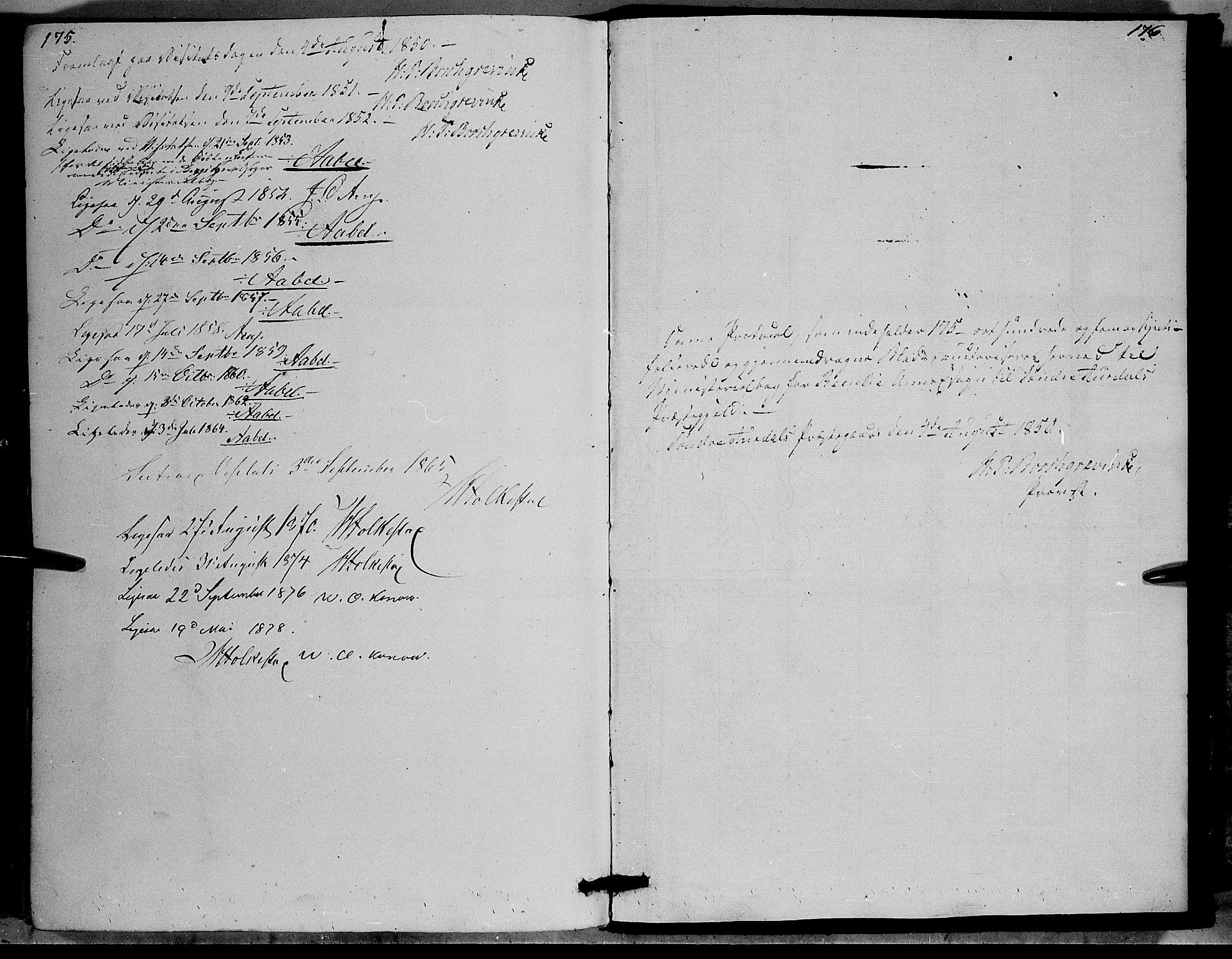 SAH, Sør-Aurdal prestekontor, Ministerialbok nr. 6, 1849-1876, s. 175