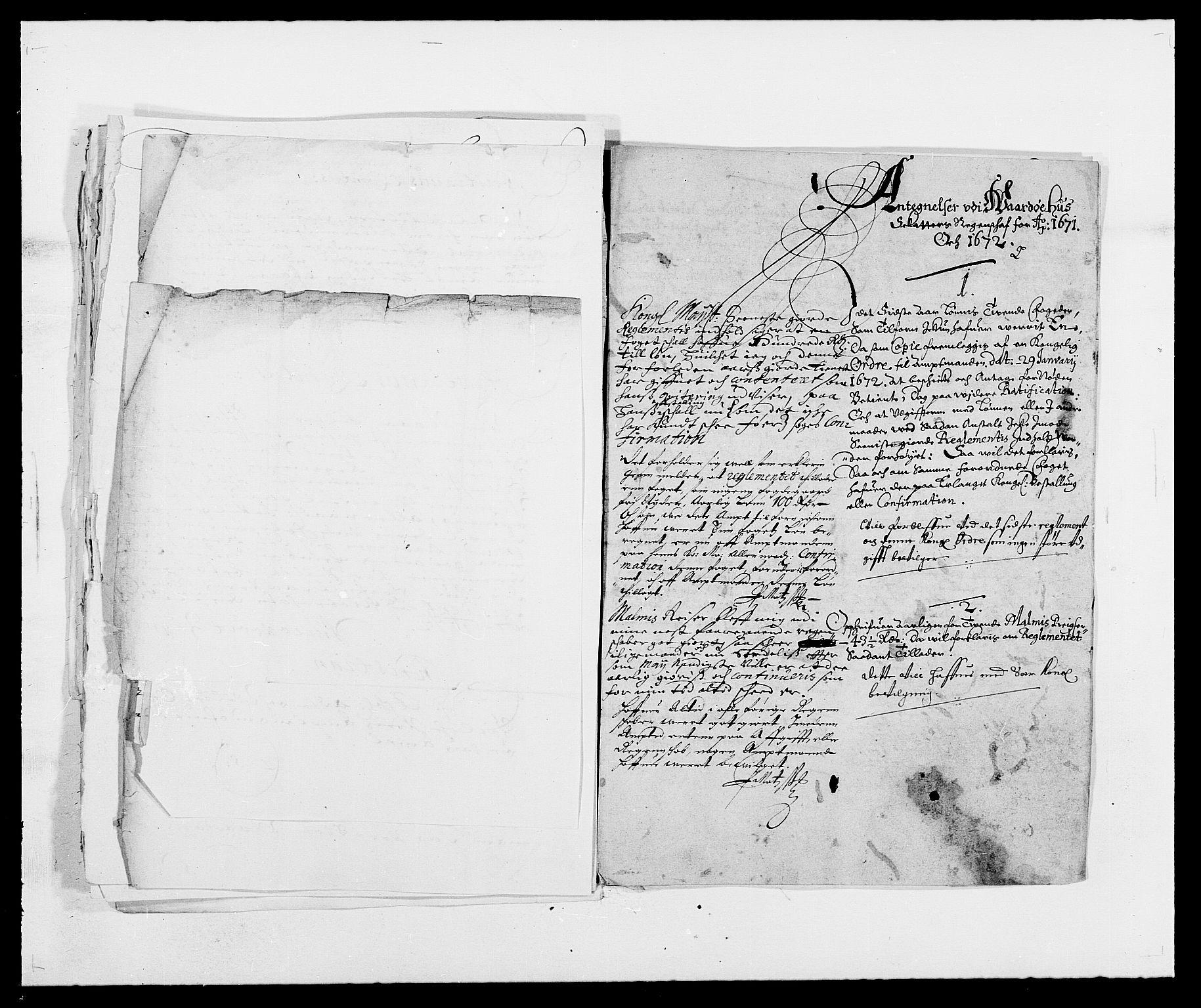 RA, Rentekammeret inntil 1814, Reviderte regnskaper, Fogderegnskap, R69/L4849: Fogderegnskap Finnmark/Vardøhus, 1661-1679, s. 271