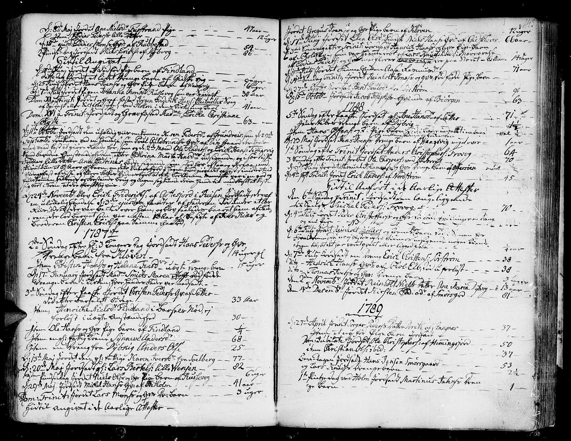 SATØ, Tranøy sokneprestkontor, I/Ia/Iaa/L0002kirke: Ministerialbok nr. 2, 1773-1806, s. 145