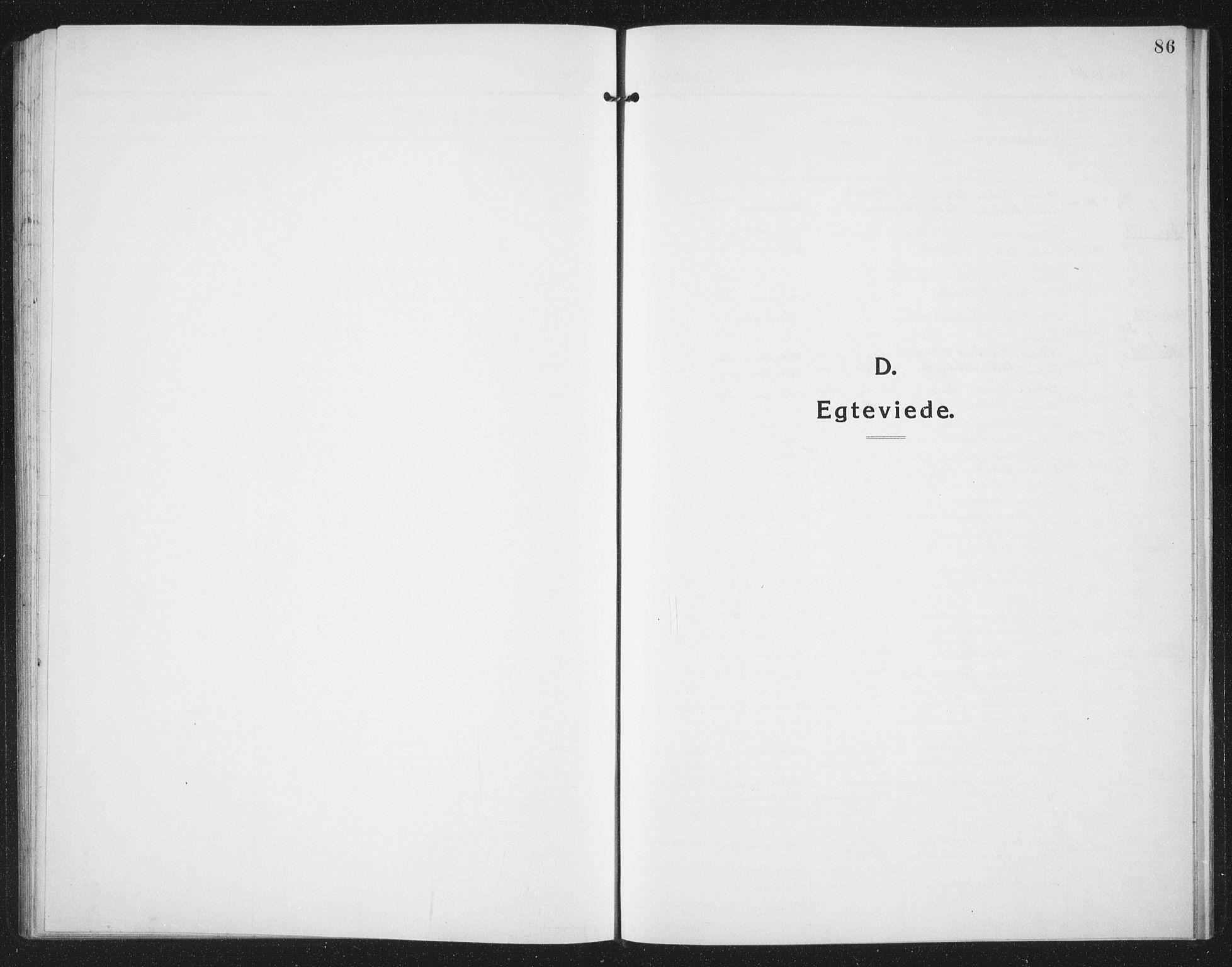 SAT, Ministerialprotokoller, klokkerbøker og fødselsregistre - Sør-Trøndelag, 659/L0750: Klokkerbok nr. 659C07, 1914-1940, s. 86