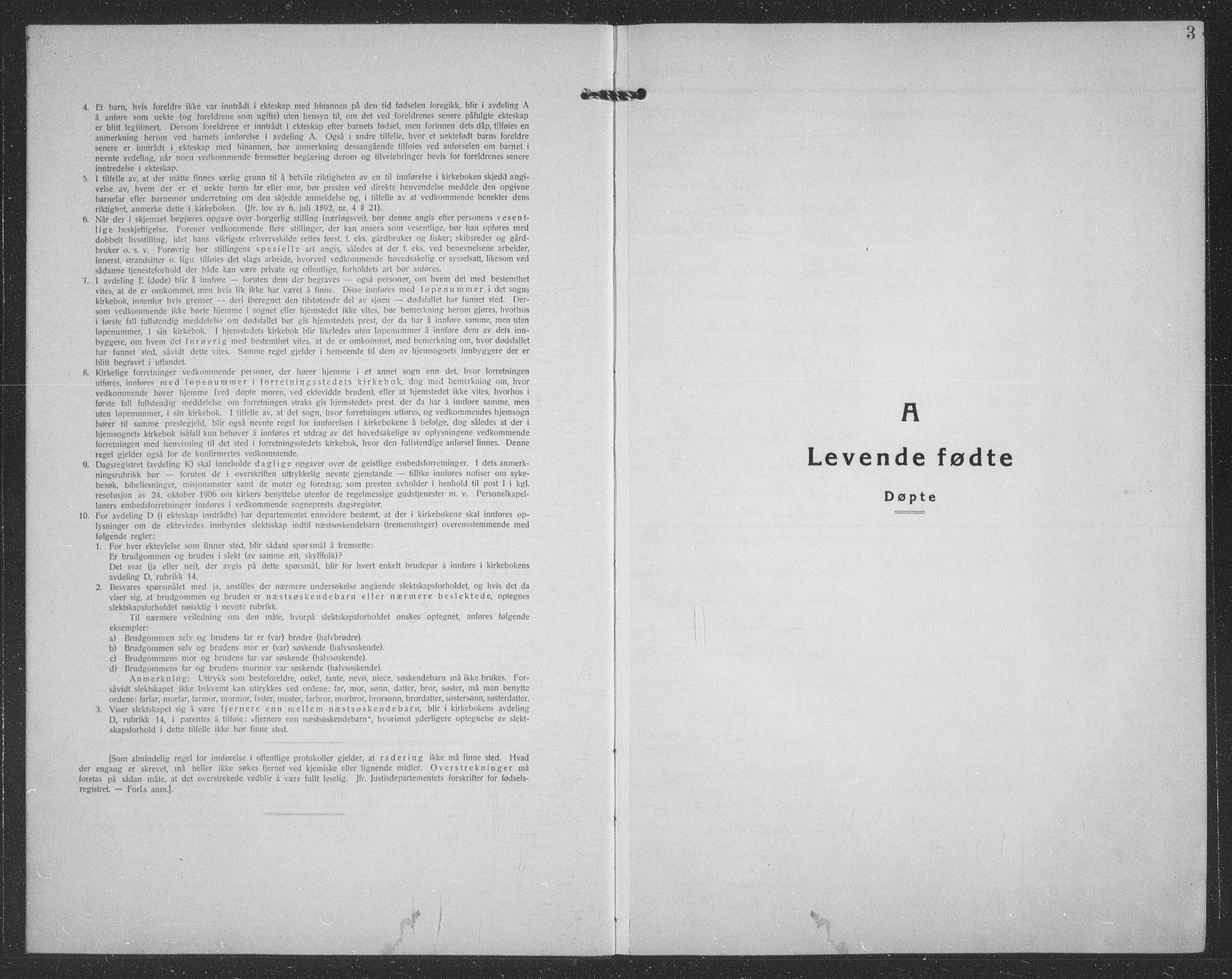 SATØ, Tranøy sokneprestkontor, I/Ia/Iab/L0024klokker: Klokkerbok nr. 24, 1929-1943, s. 3