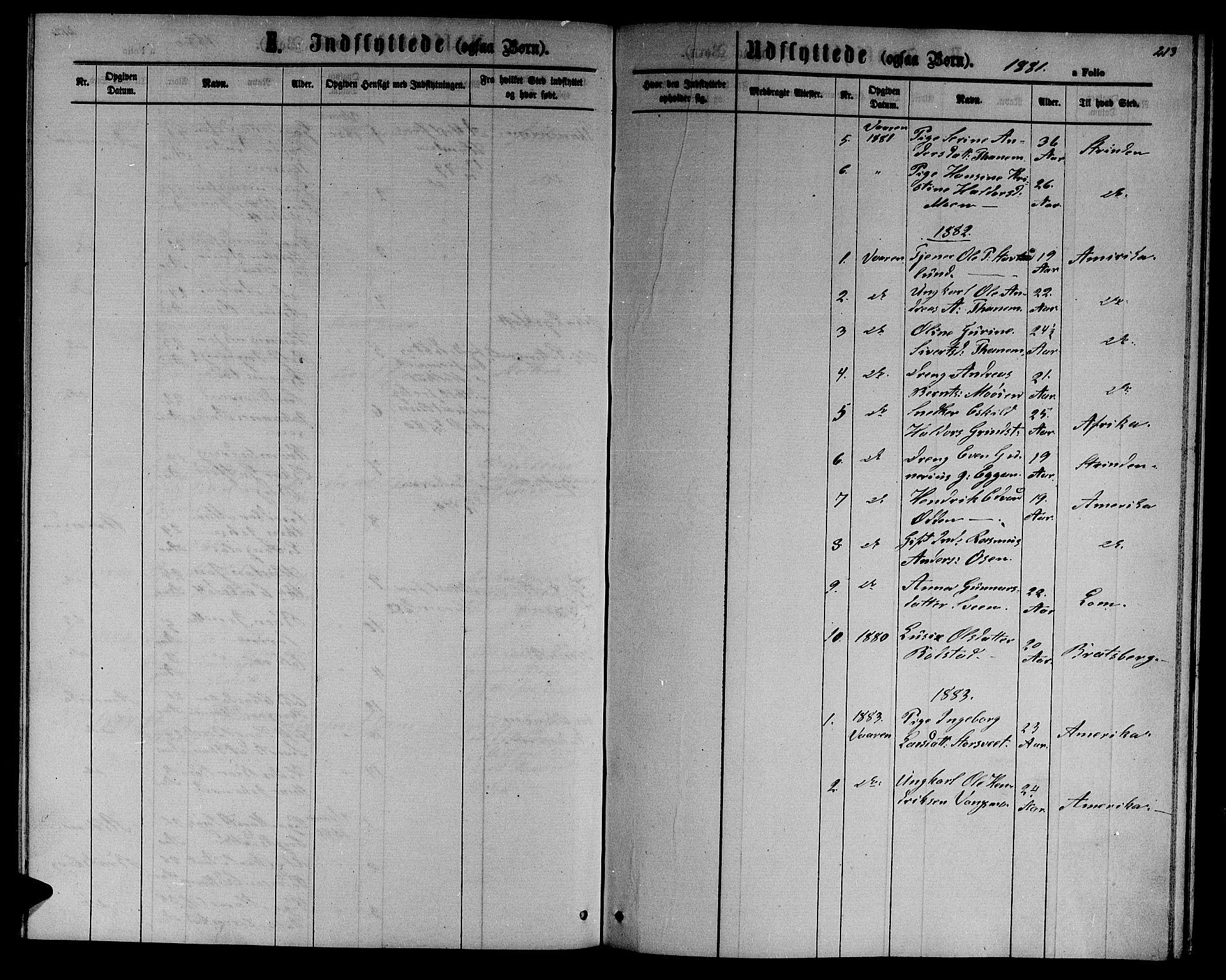 SAT, Ministerialprotokoller, klokkerbøker og fødselsregistre - Sør-Trøndelag, 618/L0451: Klokkerbok nr. 618C02, 1865-1883, s. 213