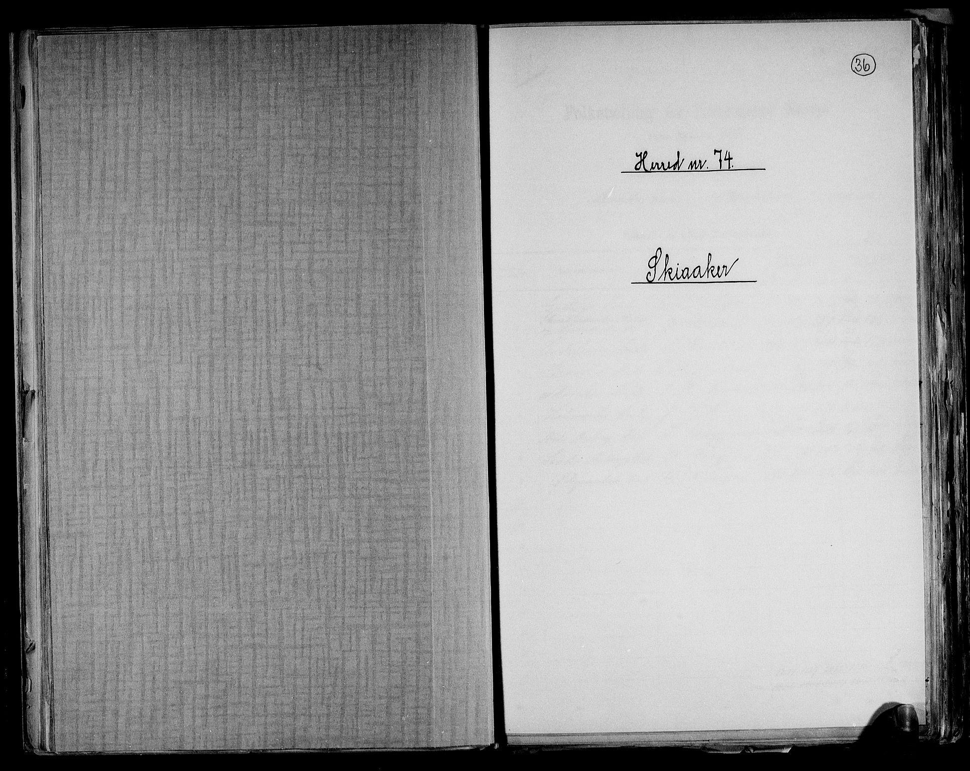 RA, Folketelling 1891 for 0513 Skjåk herred, 1891, s. 1